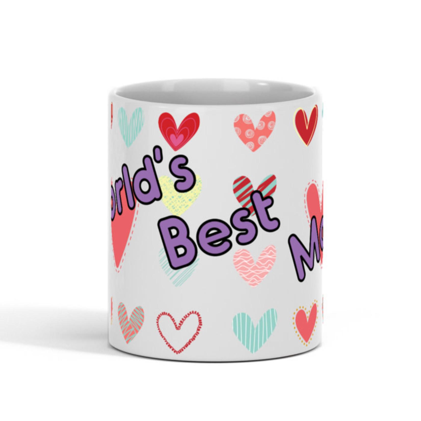 'World's Best Mom'' Mug