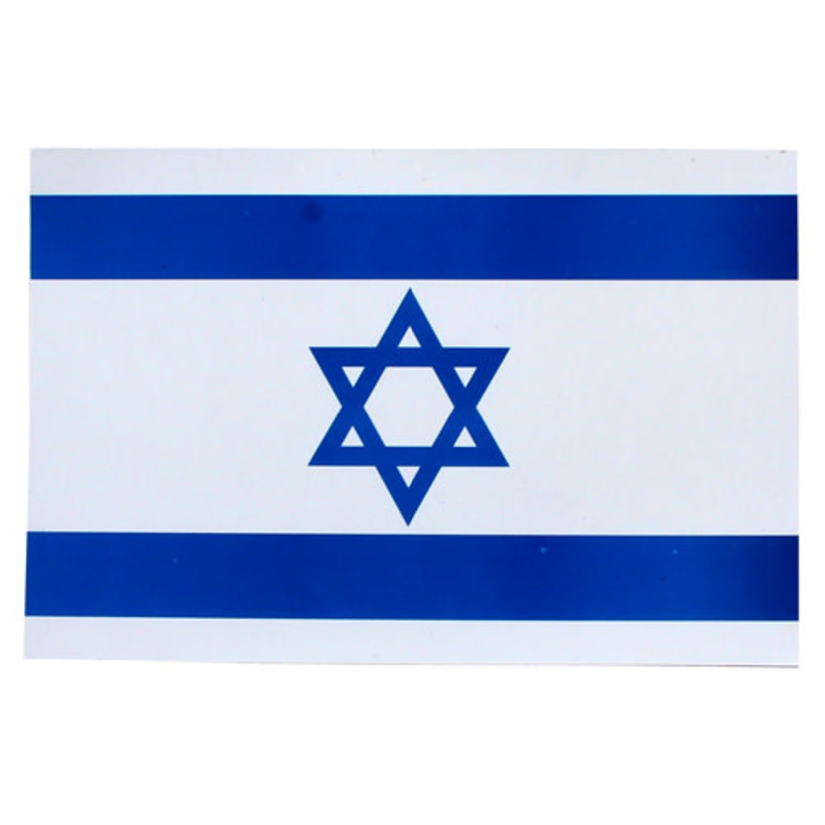 Israeli Flag Magnet, 8¼ x 5½ inch (21 x 14 cm)