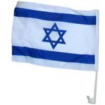 Israeli Car Flag