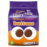 Cadbury Dairy Milk Orange Giant Buttons, 110g