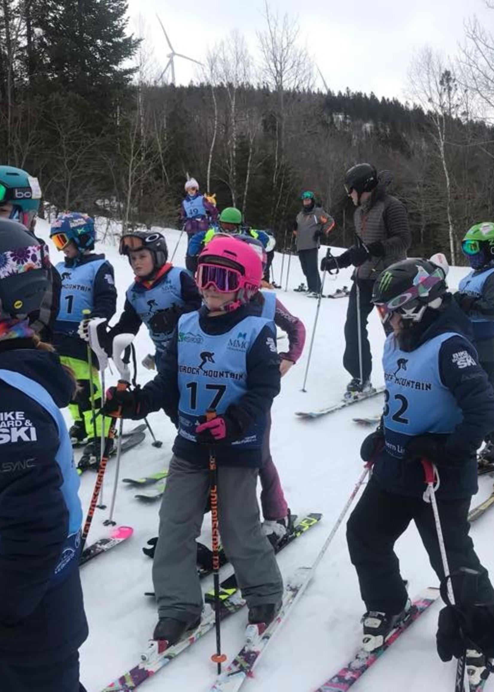 Youth Ski Race Program (with lift ticket)