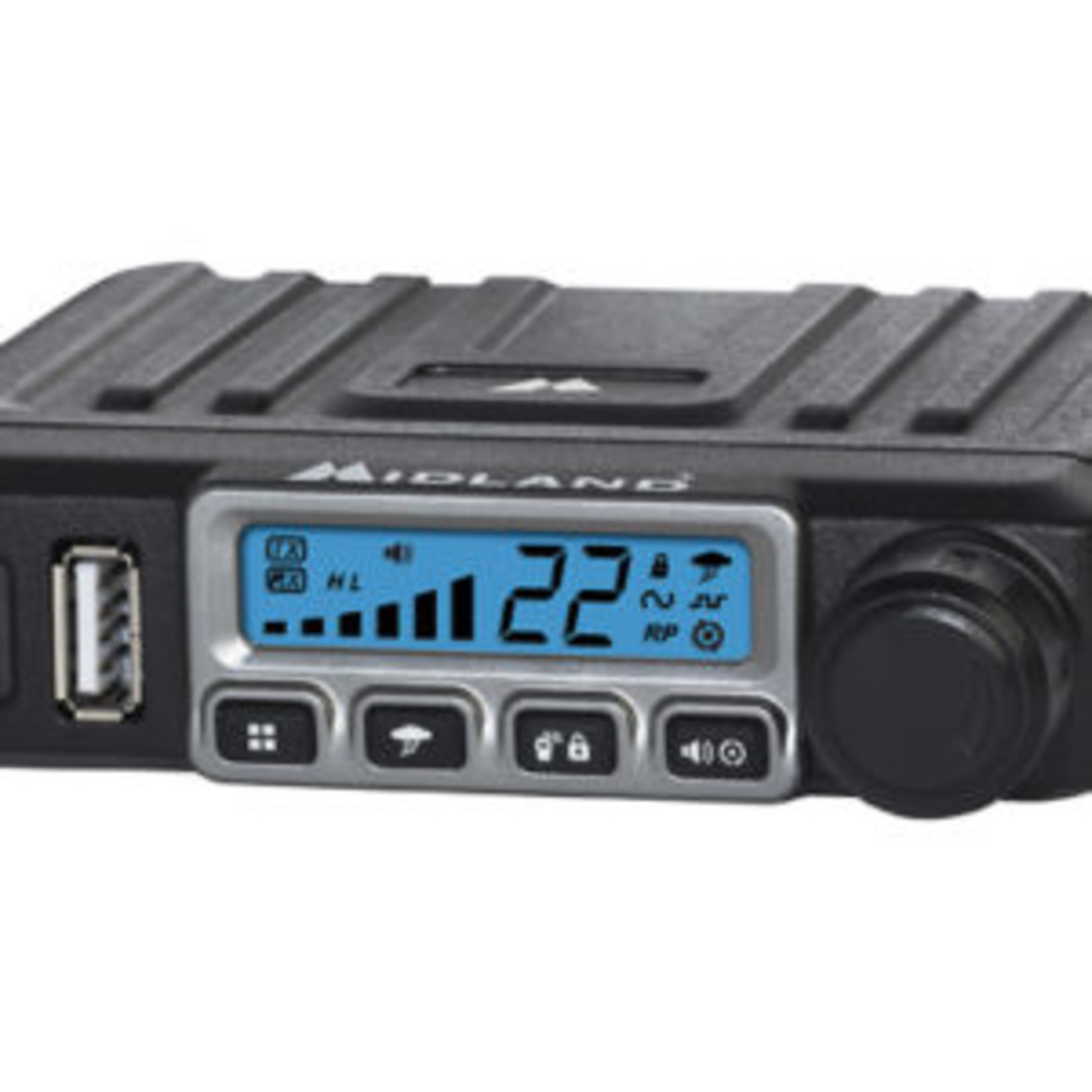 Midland Midland MicroMobile MXT115VP3 Two Way Radio Bundle