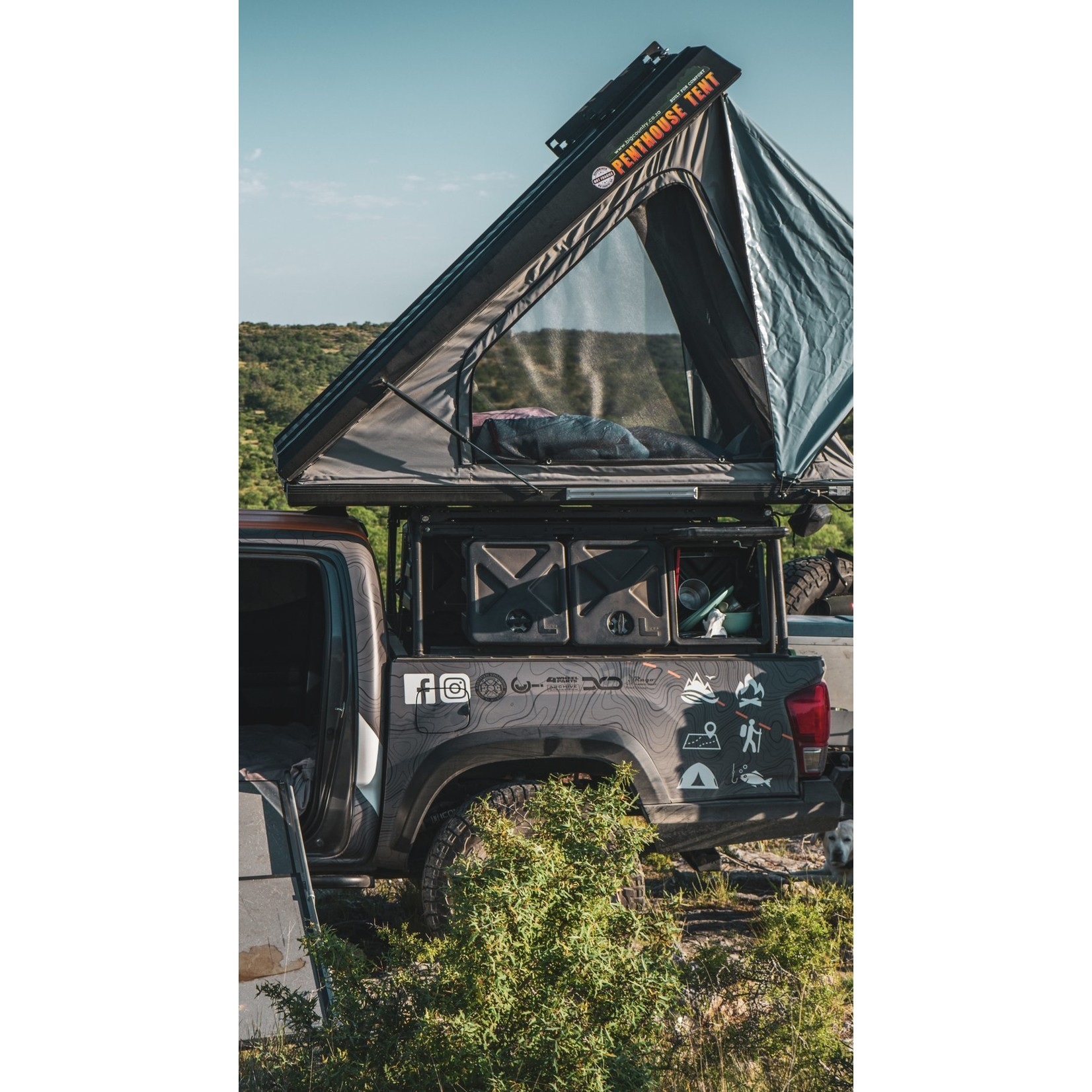 Big Country 4x4 Big Coungry 4x4 Penthouse Tent XL