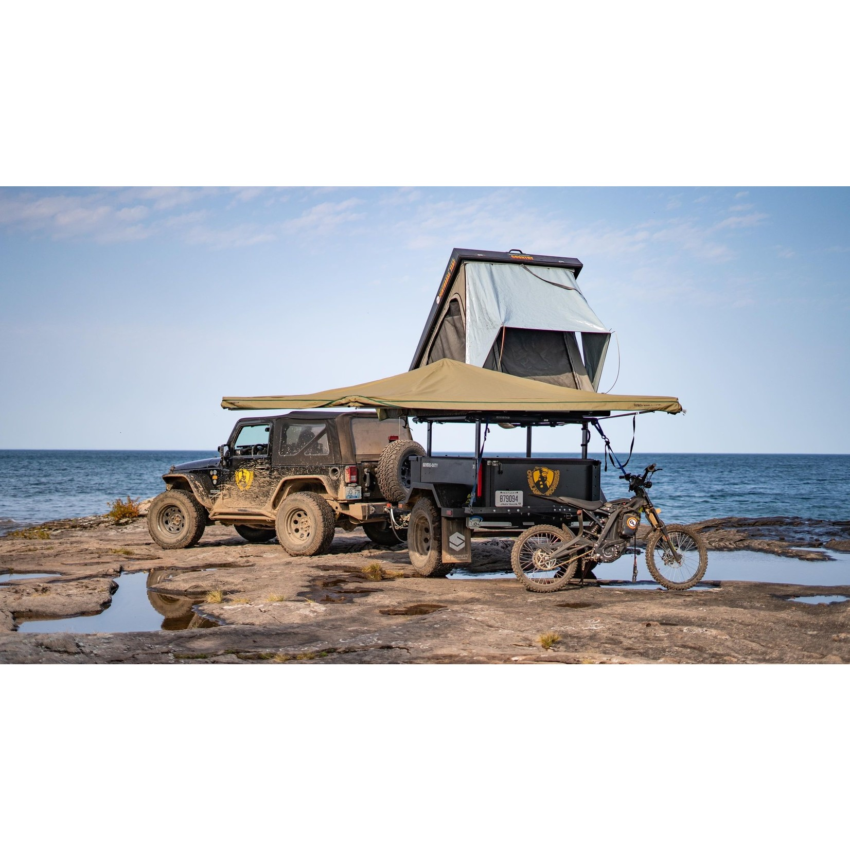 Big Country 4x4 BIg Country 4x4 Ostrich Wing Awning
