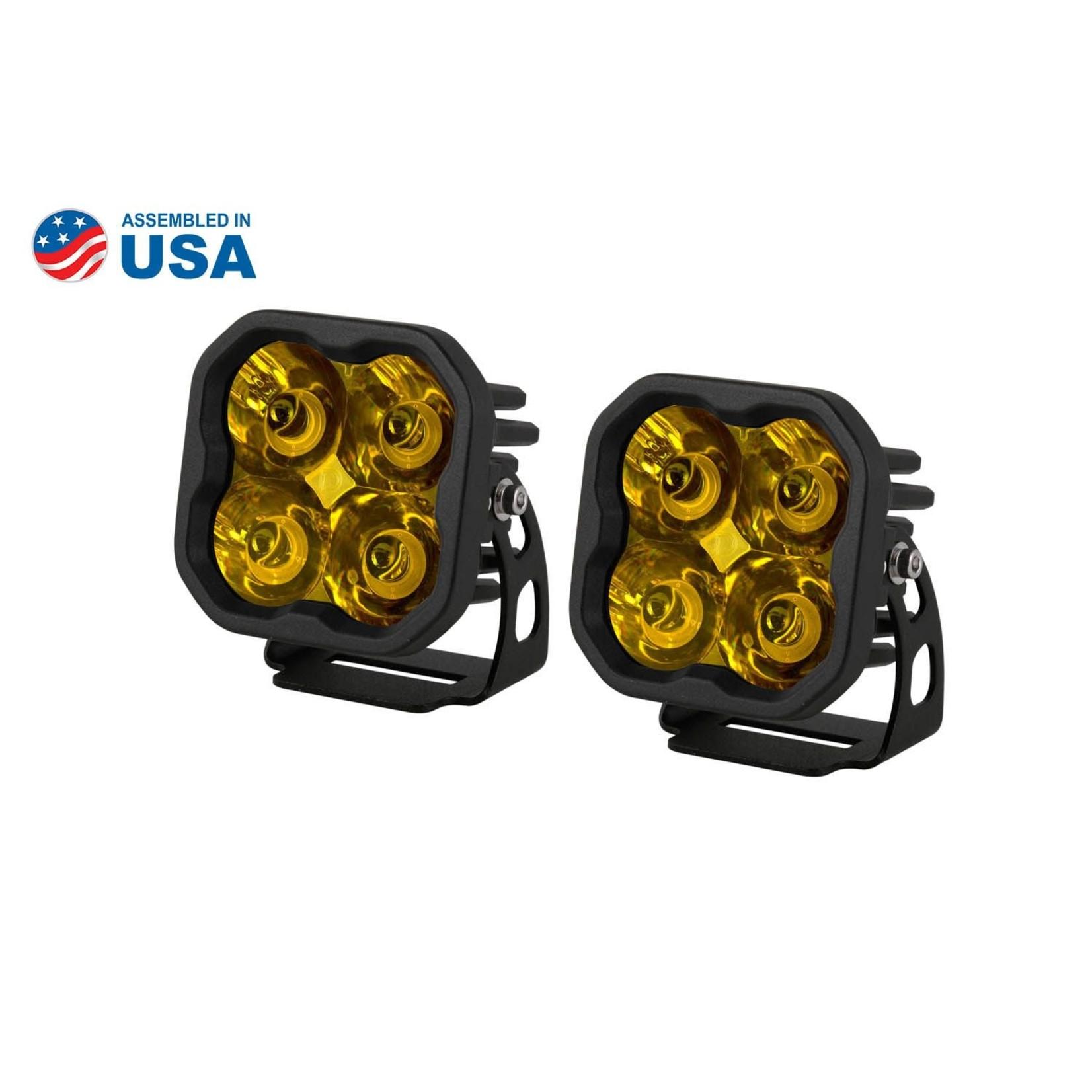 Diode Dynamics Diode Dynamics SS3 Pro Standard Yellow LED Pod
