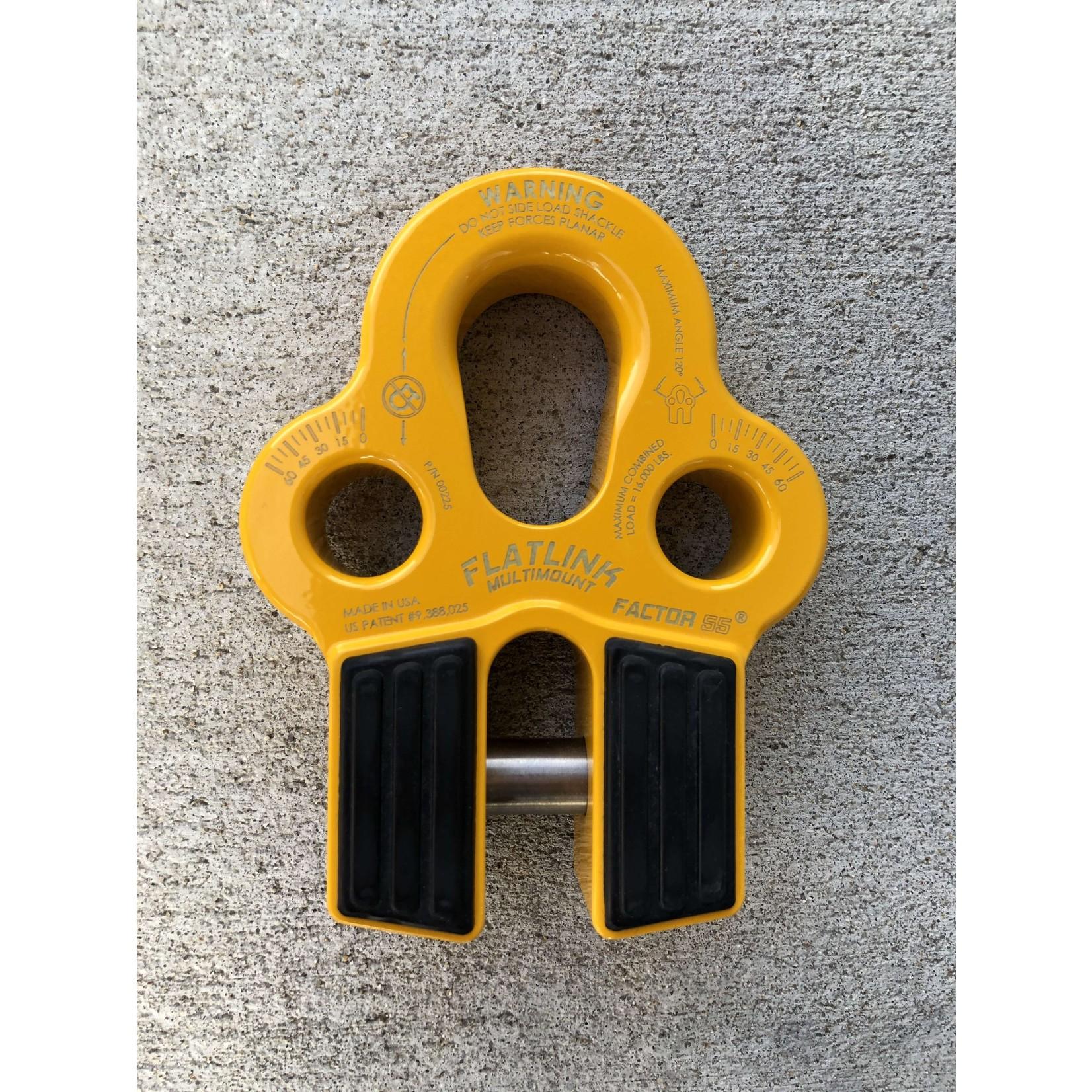 Factor 55 Factor 55 FlatLink MultiMount Winch Shackle