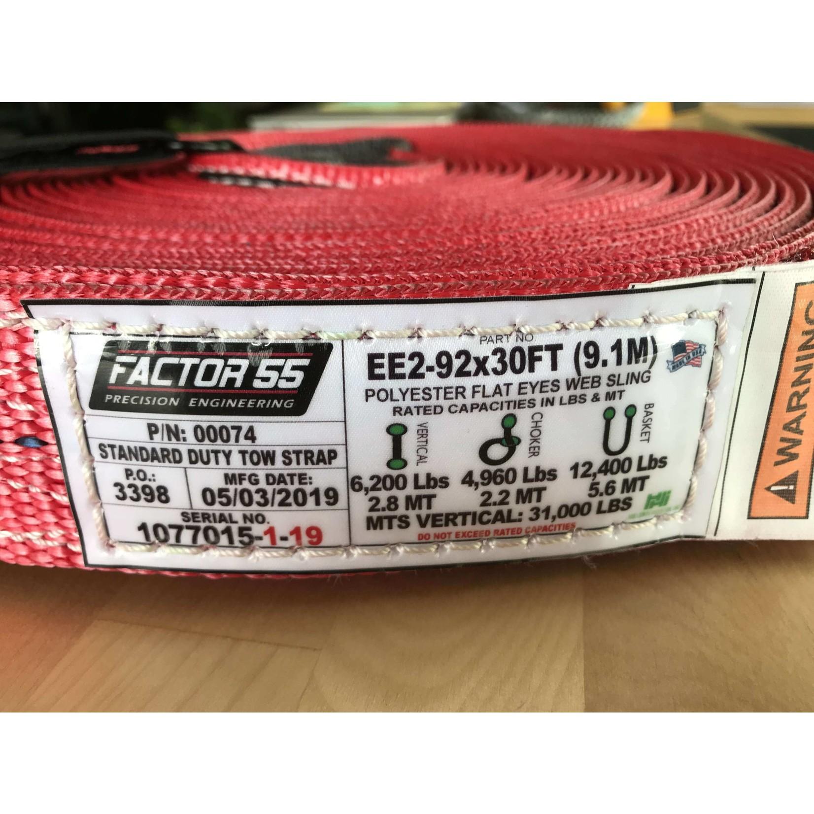 Factor 55 Factor 55 Tow Straps
