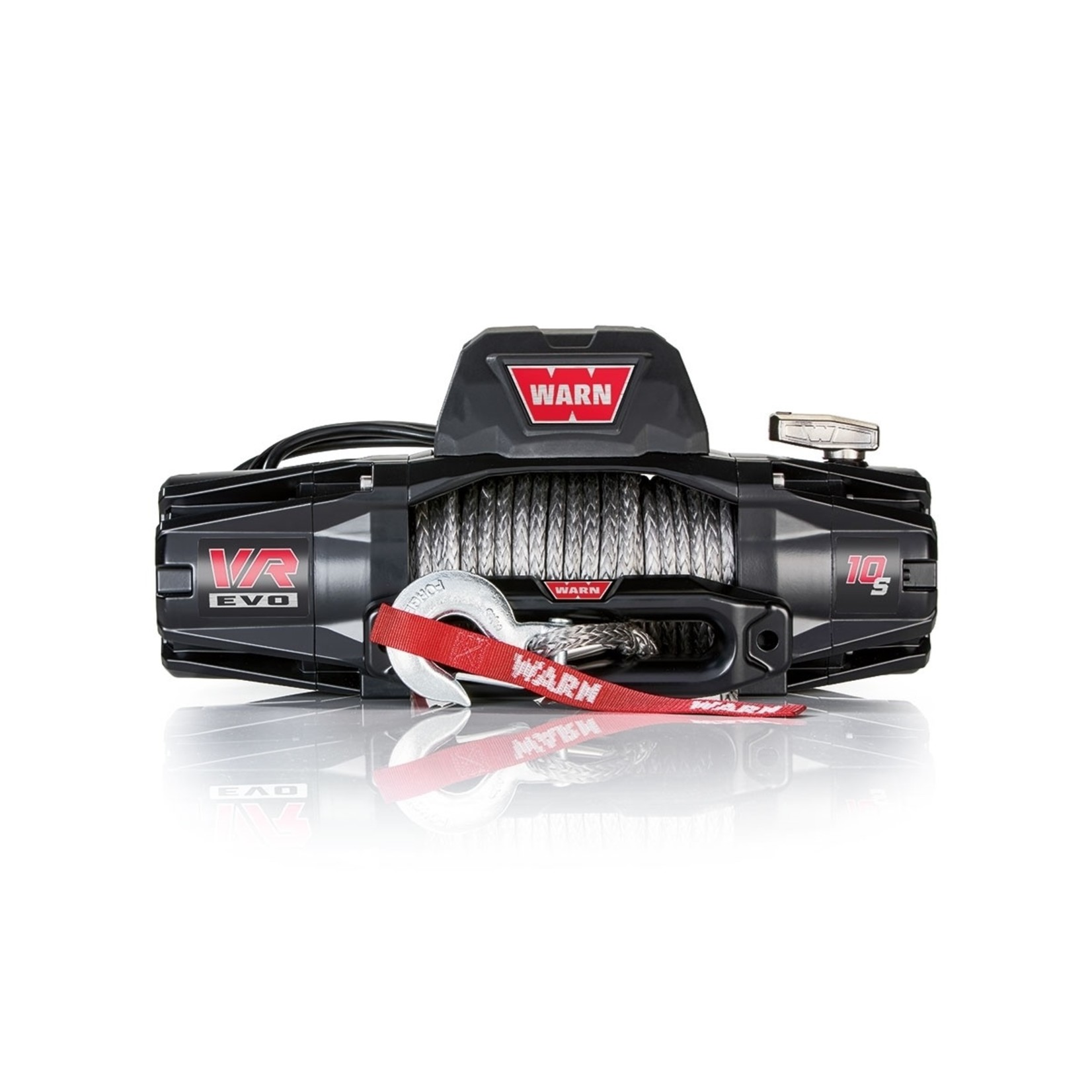 Warn VR EVO 10-S Winch w/Synthetic Rope