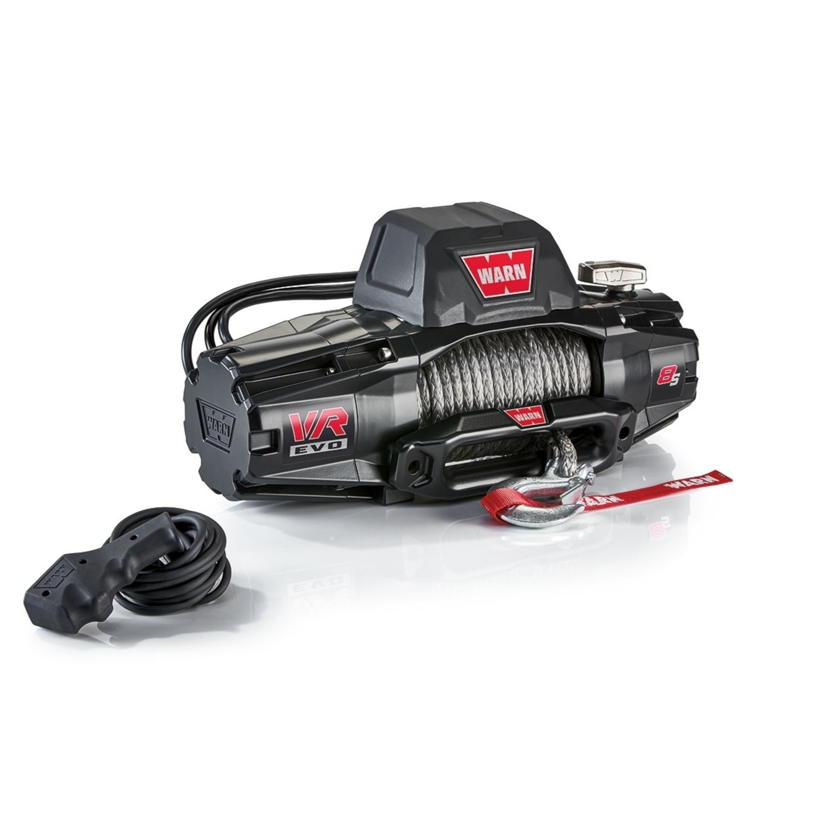 Warn VR EVO 8-S Winch w/Synthetic Rope