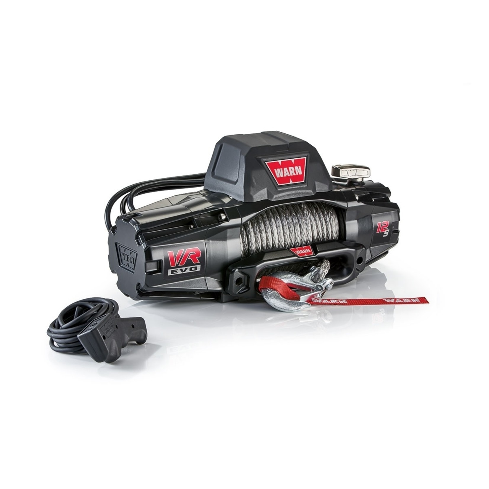 Warn VR EVO 12-S Winch w/Synthetic Rope
