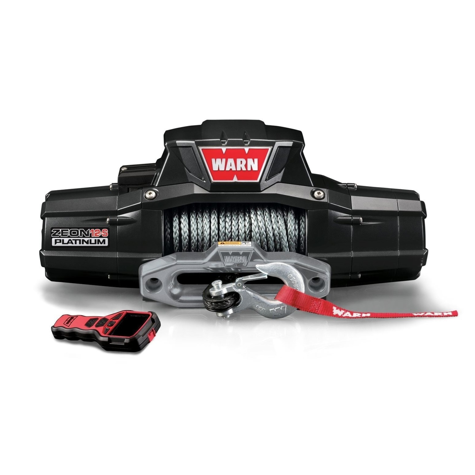 Warn ZEON Platinum 12-S Winch w/Synthetic Rope