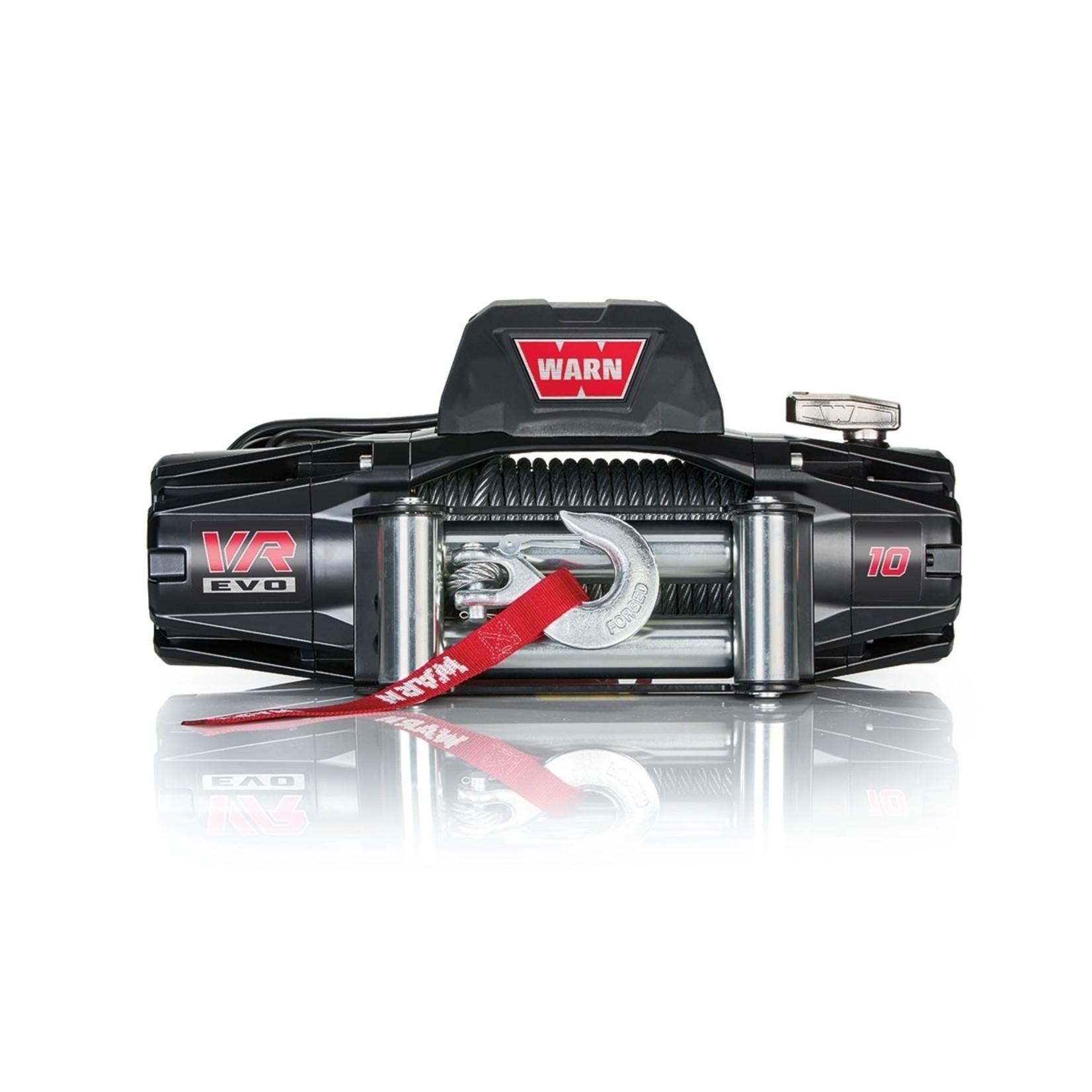 Warn VR EVO 10 Winch w/Steel Cable
