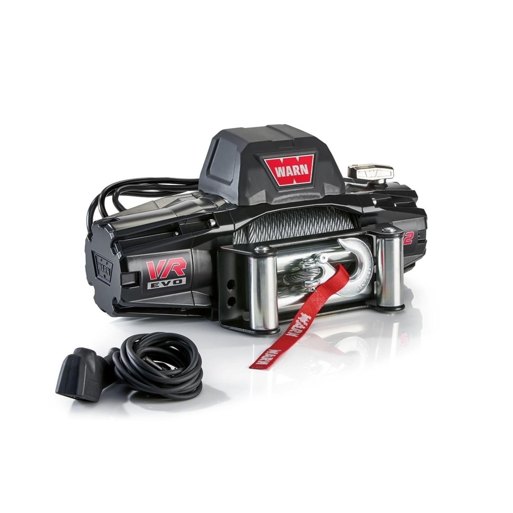 Warn VR EVO 12 Winch w/Steel Cable