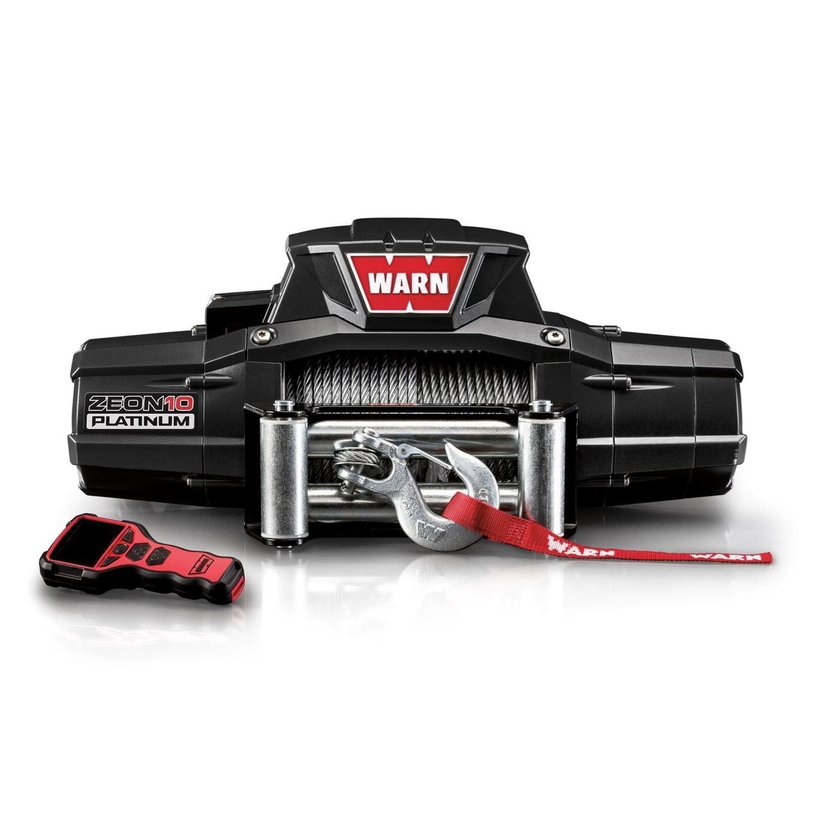 Warn Zeon Platinum 10 Winch w/Steel Cable