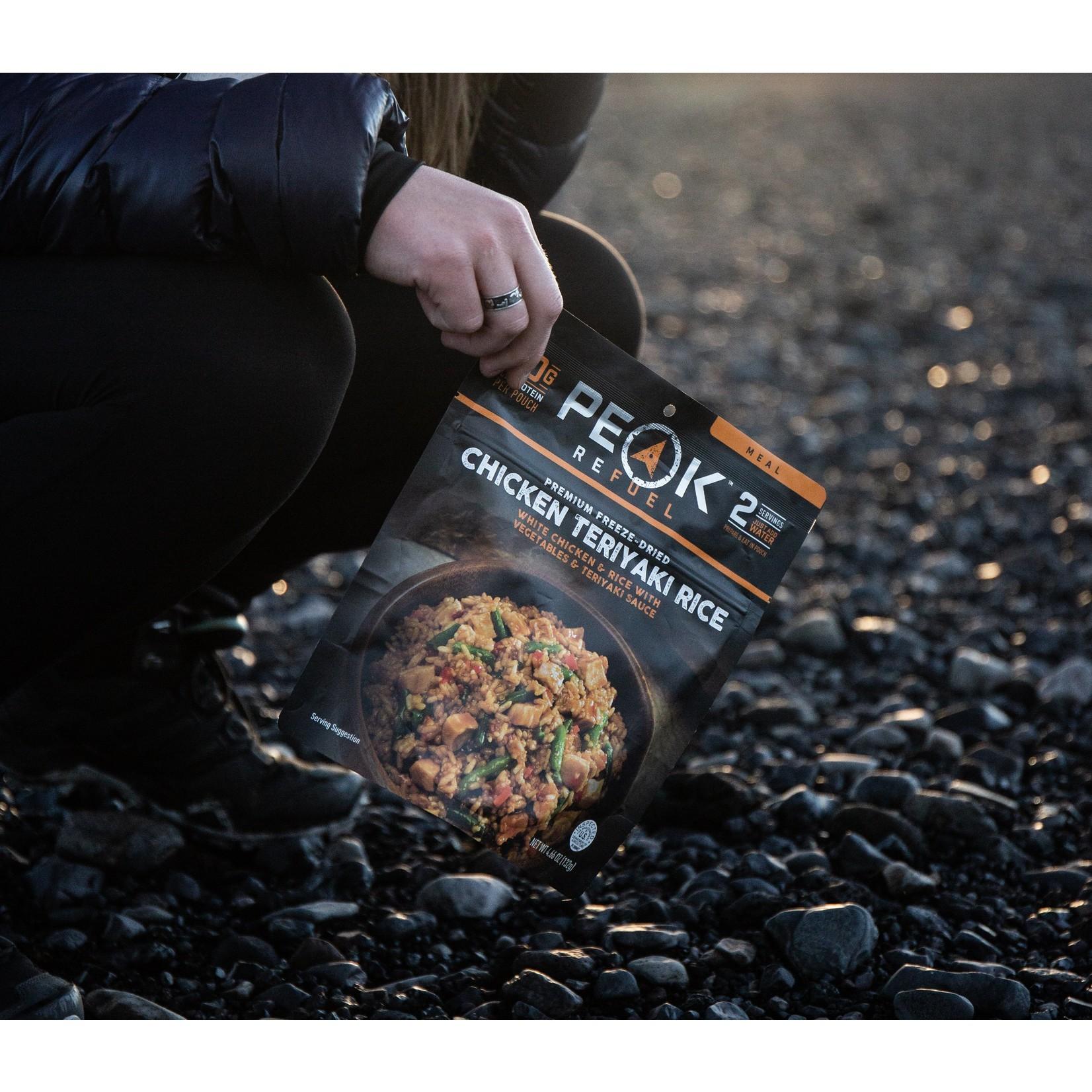 Peak Refuel Peak ReFuel Chicken Teriyaki Rice Meal
