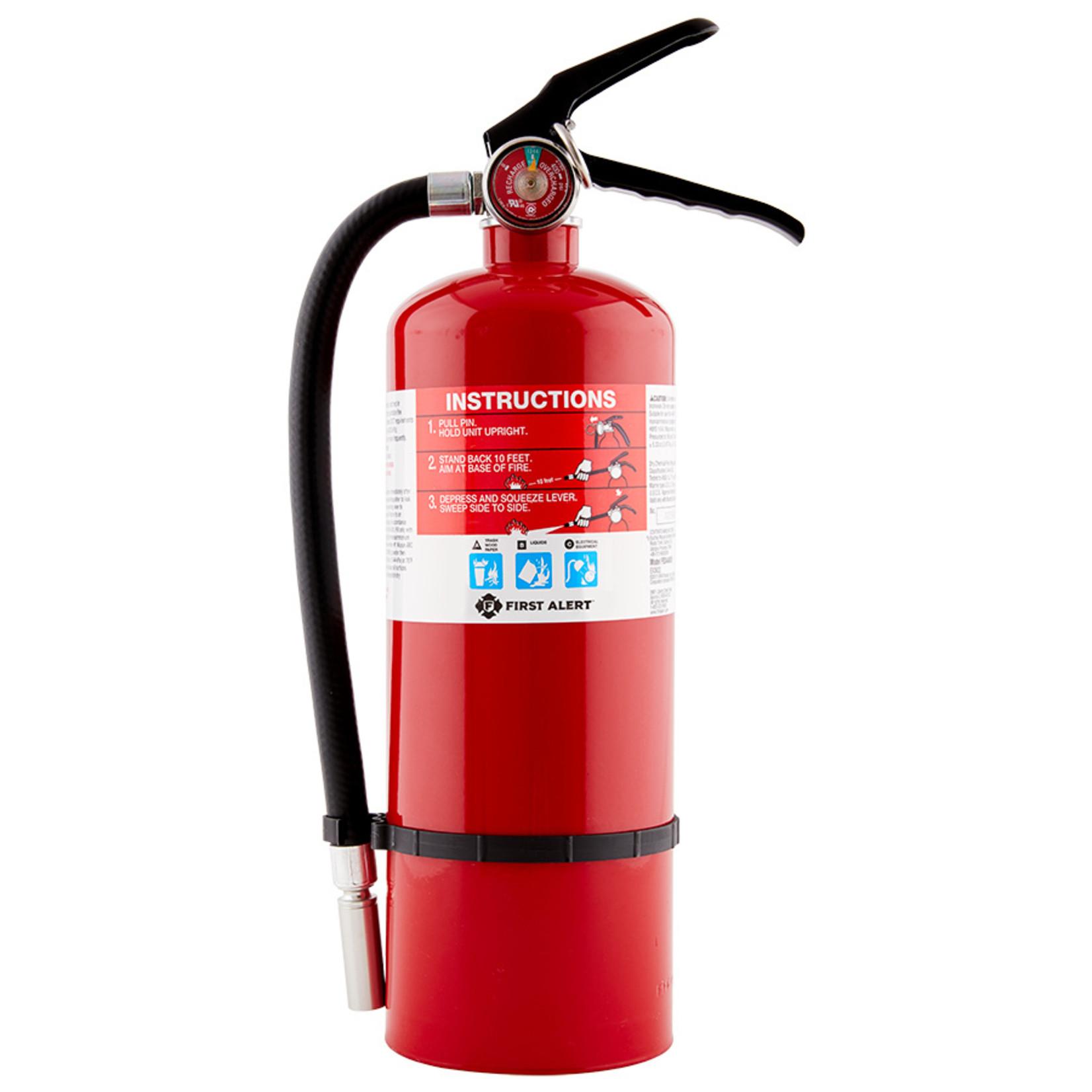 BRK BRK PRO 5lb Heavy Duty Plus Fire Extinguisher