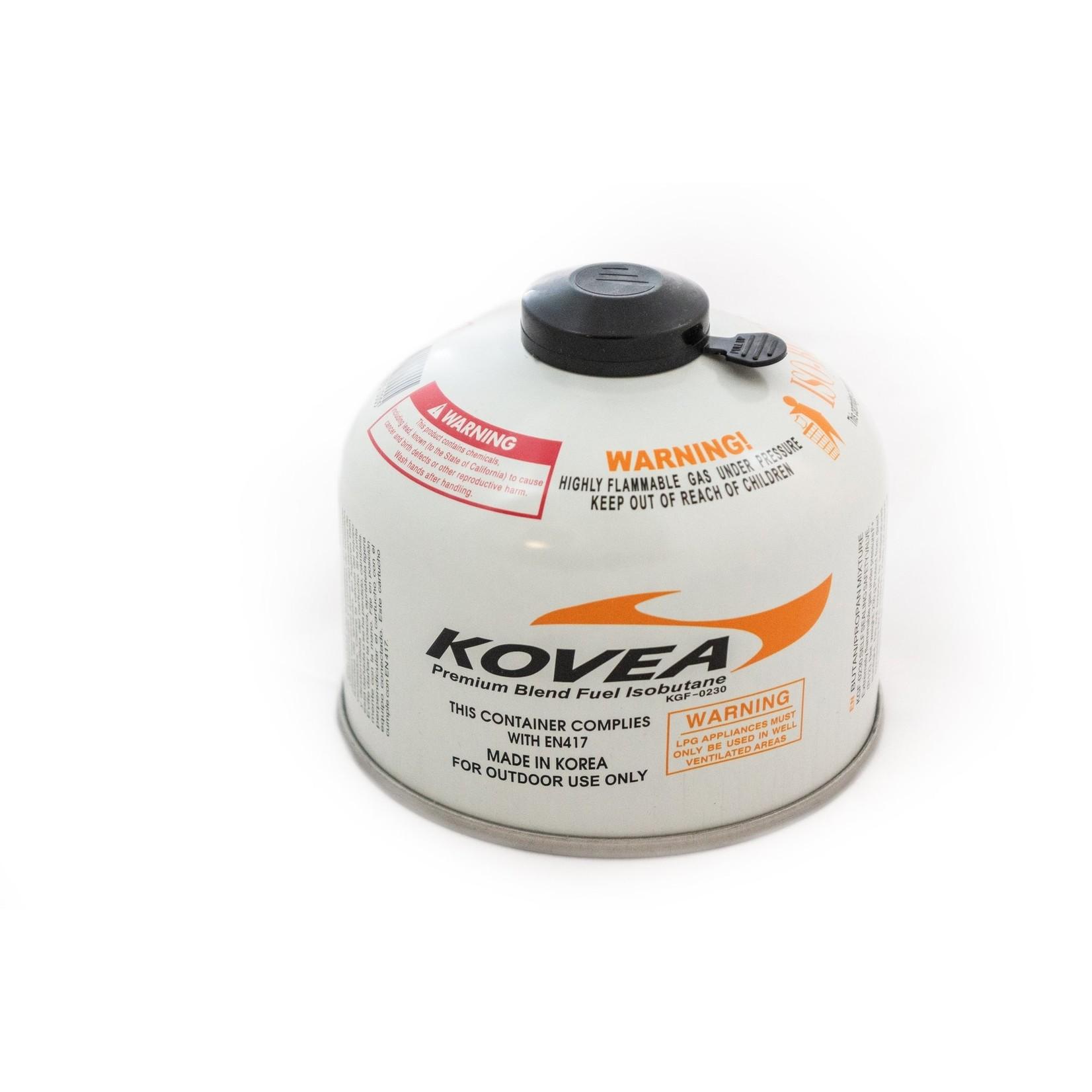 Kovea 230g Screw-on Style Isobutane Gas Canister