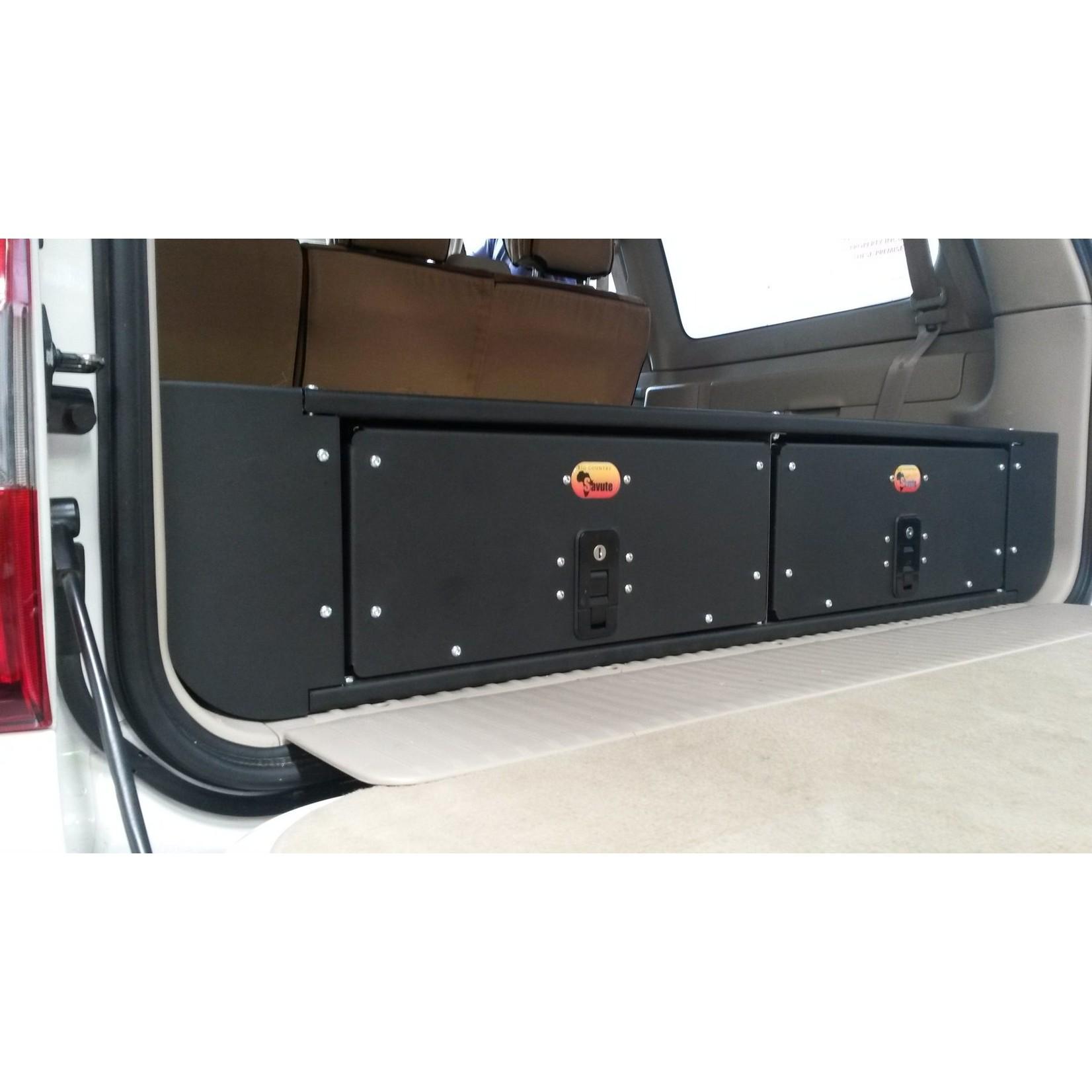 Big Country 4x4 Big Country 4x4 Toyota Land Cruiser 100/Lexus LX470 Twin Drawer Kit