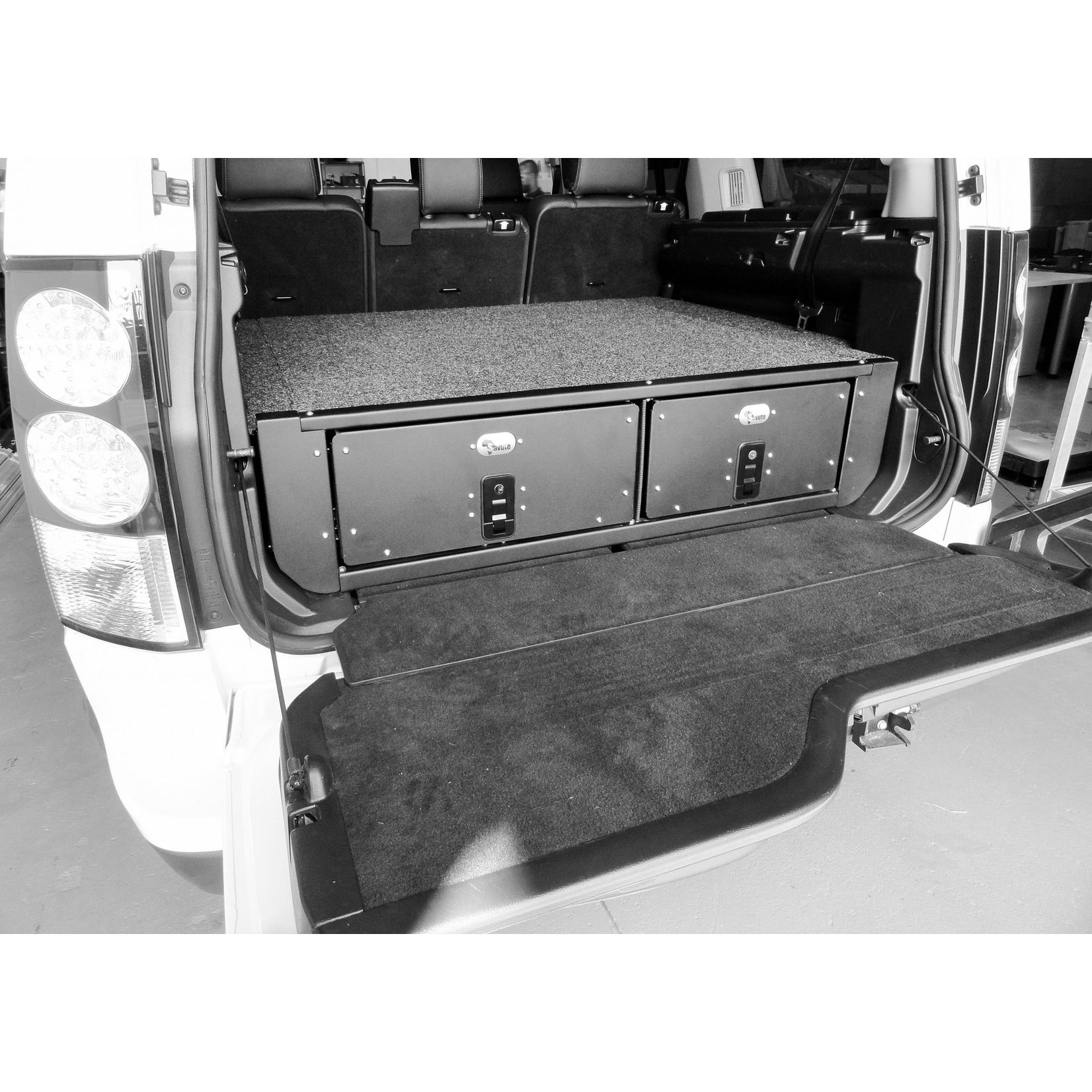 Big Country 4x4 Big Country 4x4 Land Rover LR3/LR4 Twin Drawer Kit