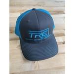 TRE TRE Trucker Snapback Hat Grey/Teal
