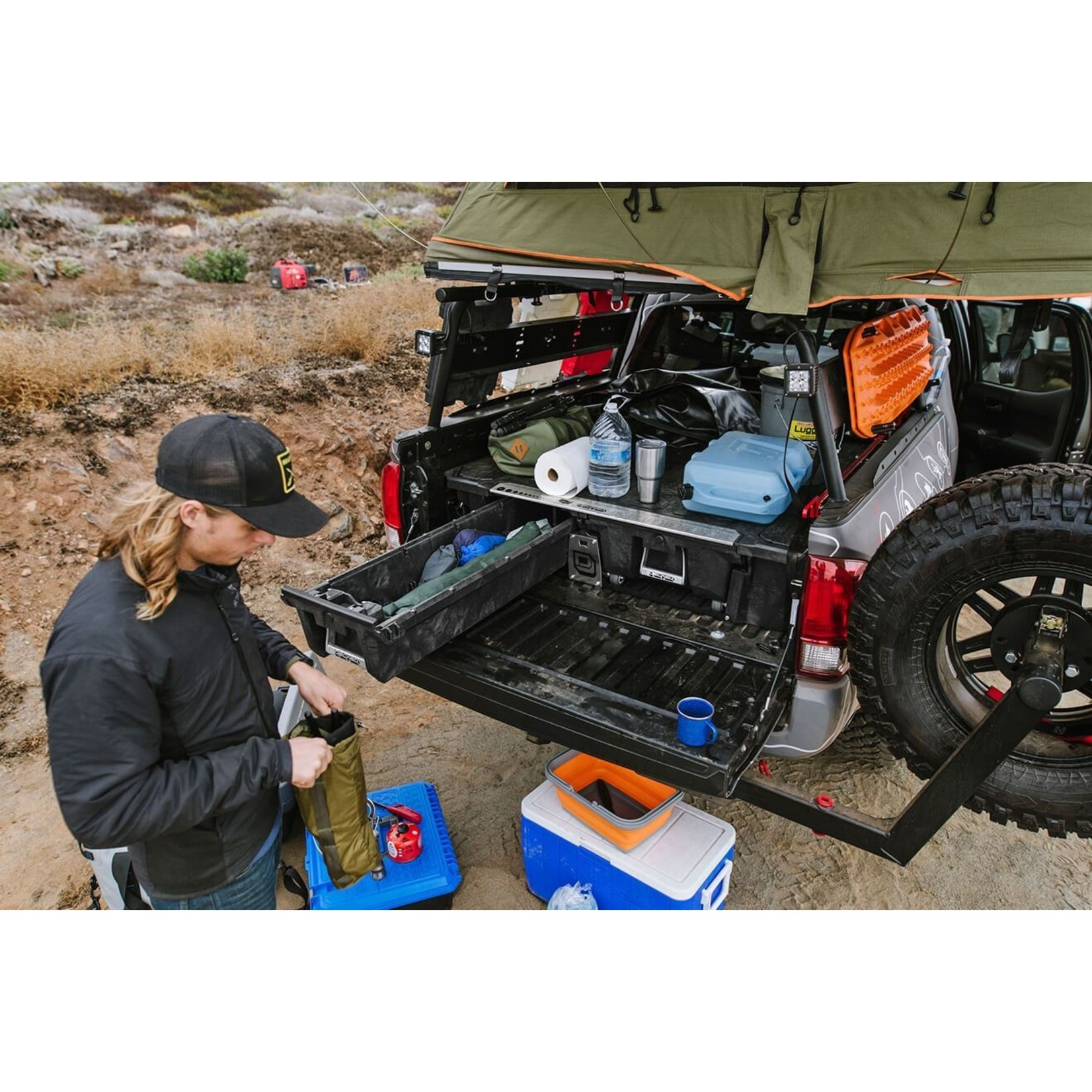 Decked Toyota Tacoma 19 to Current Drawer System
