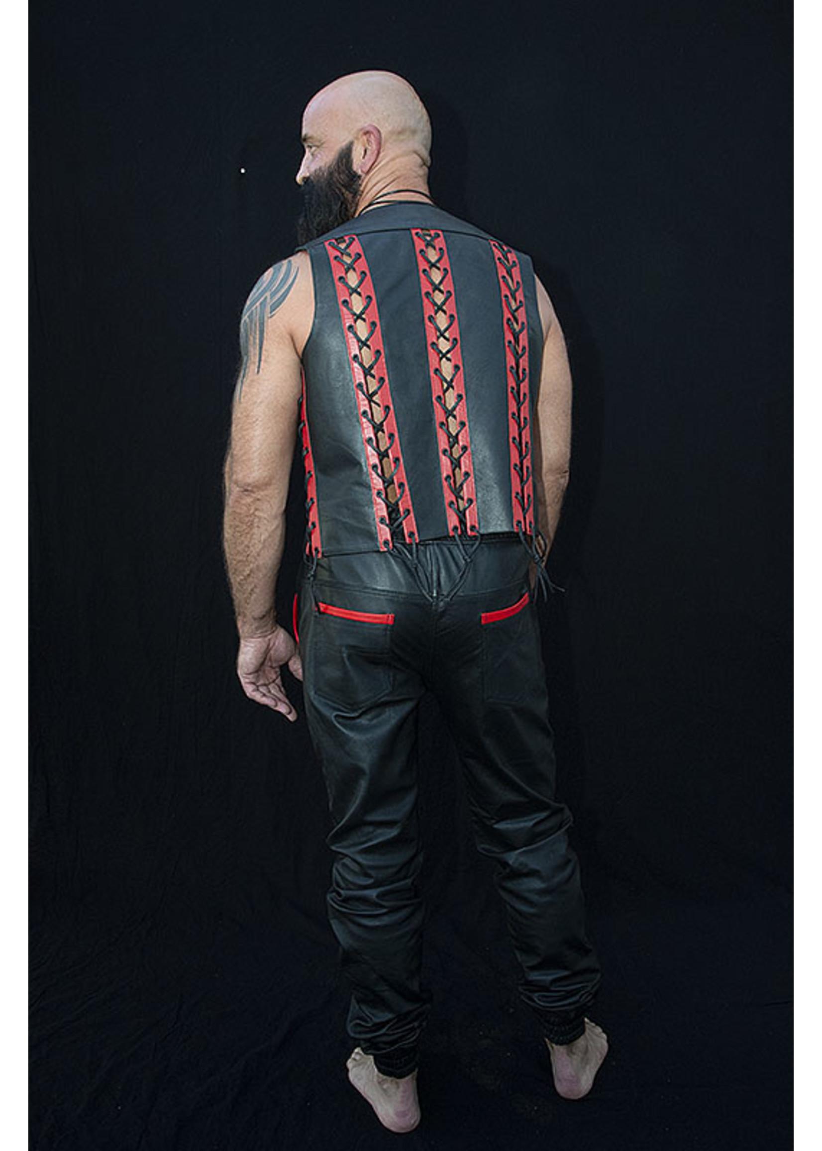 Sir Rat Sir Rat Military Leather Jogger