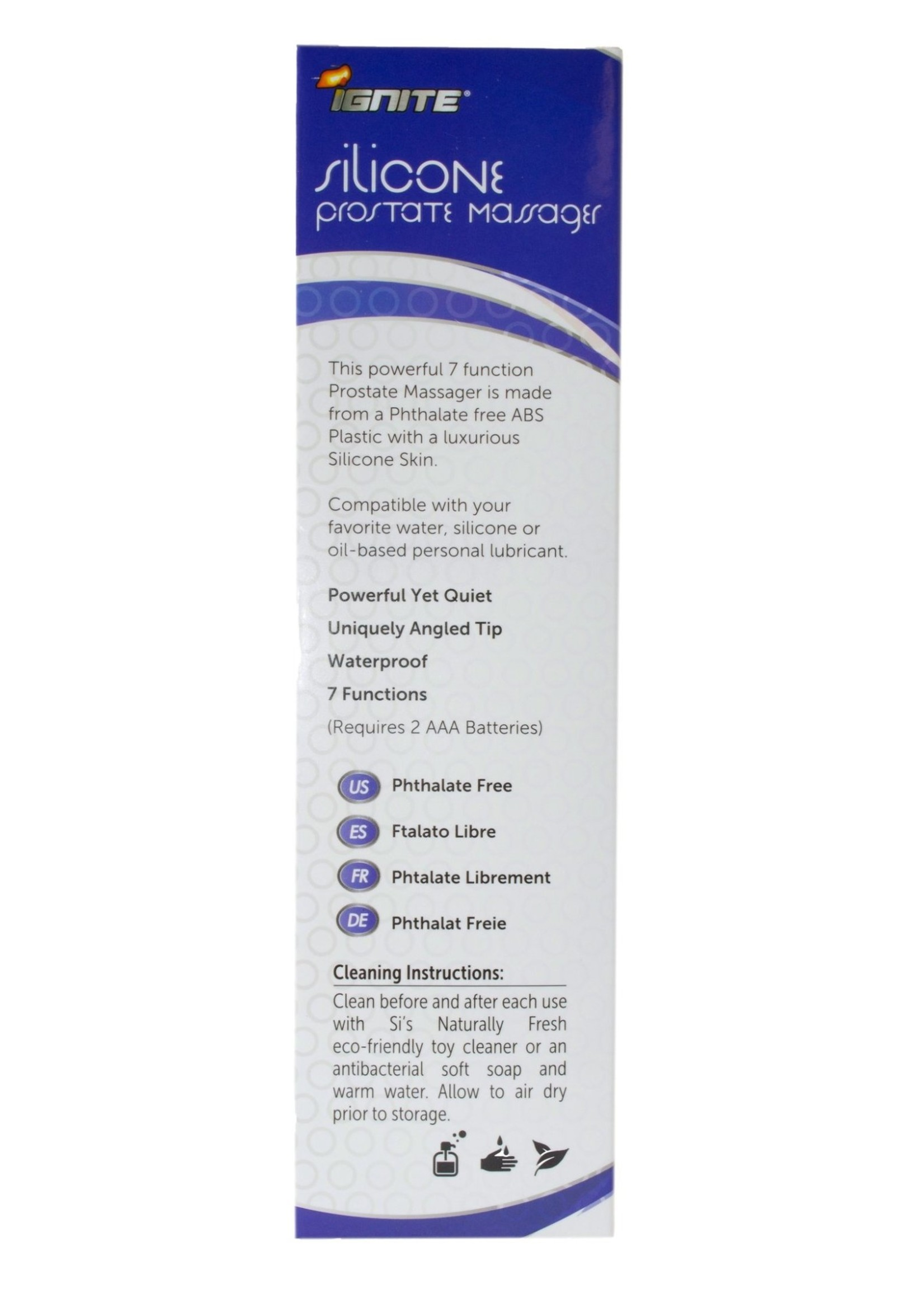 Ignite Ignite Silicone Prostate Massager