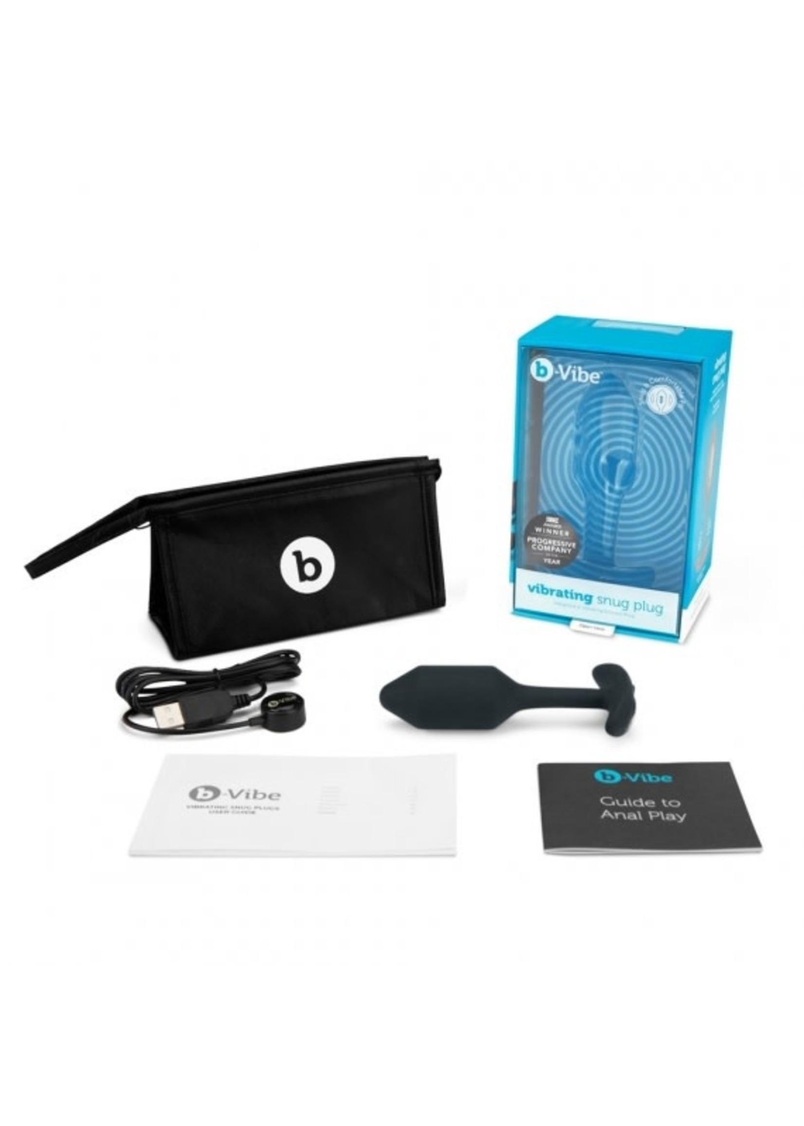 b-Vibe b-Vibe Snug Plug Vibrating
