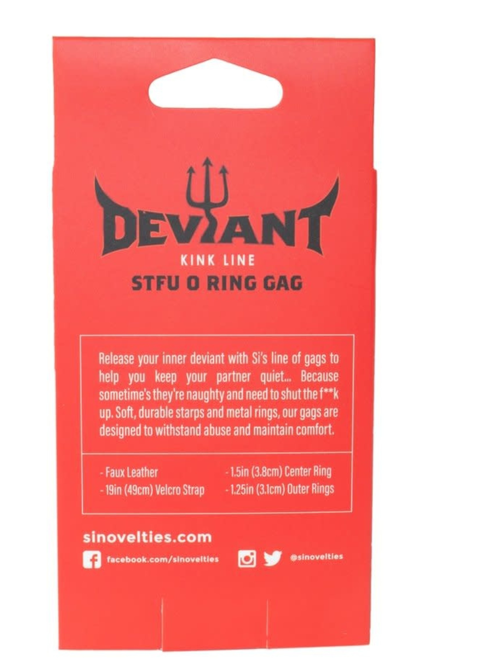 Deviant Deviant STFU O-ring Gag
