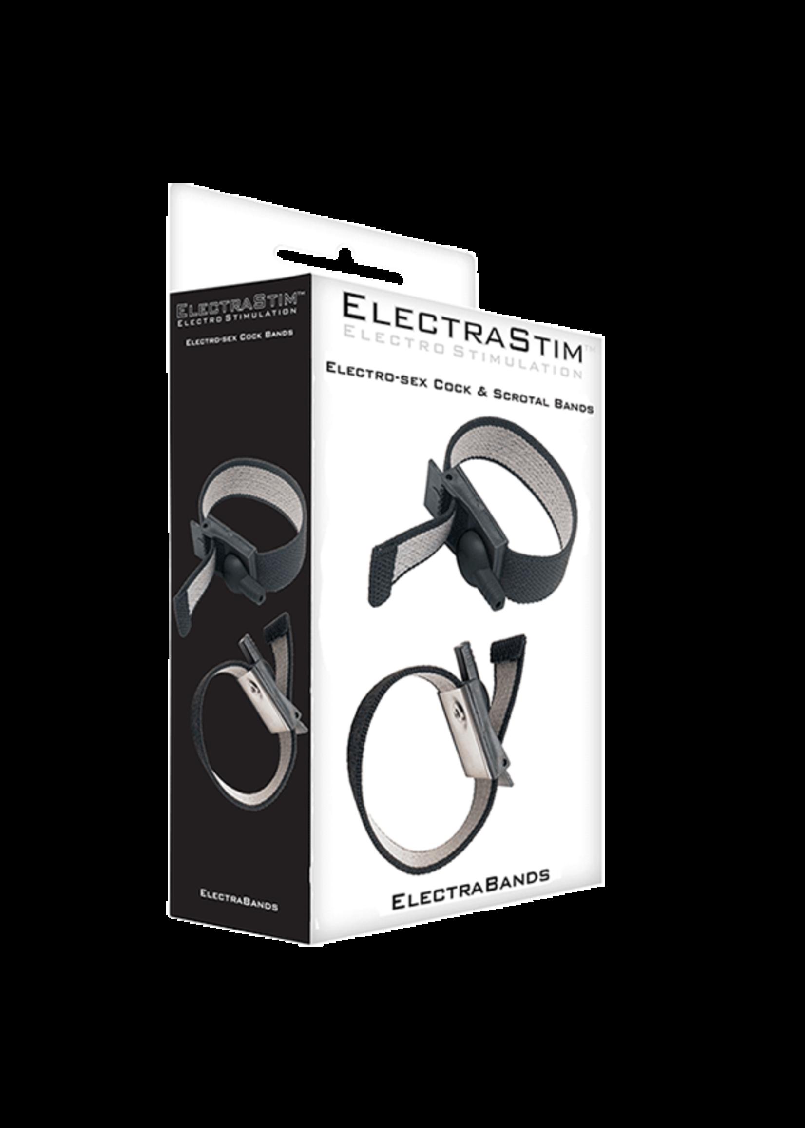 ElectraStim ElectraStim Adjustable Fabric Cock and Scrotal Loops