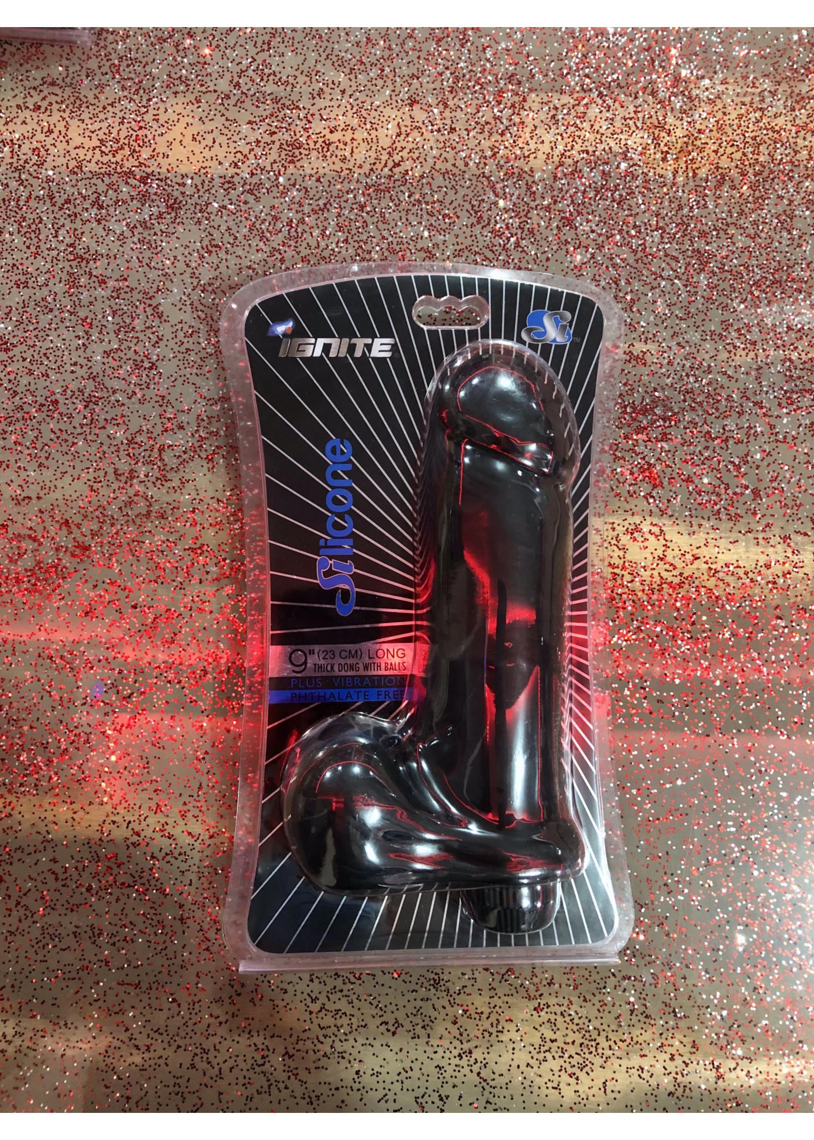 Ignite Ignite Thick Vibrating Silicone Dildo