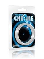 Ignite Ignite Wide Chrome Band Cock Ring