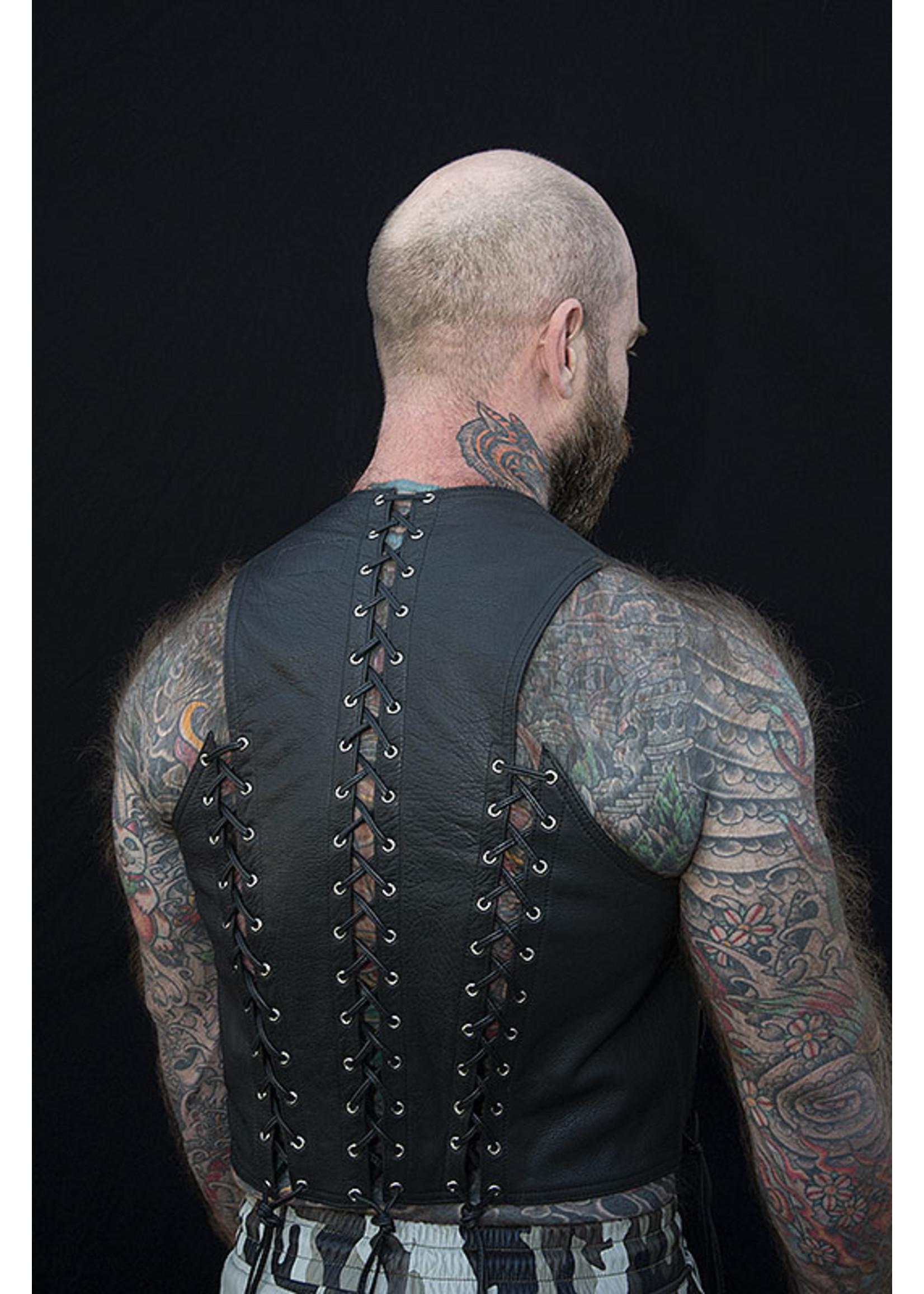 Kookie INT'L Kookie Front & Back Lace Vest