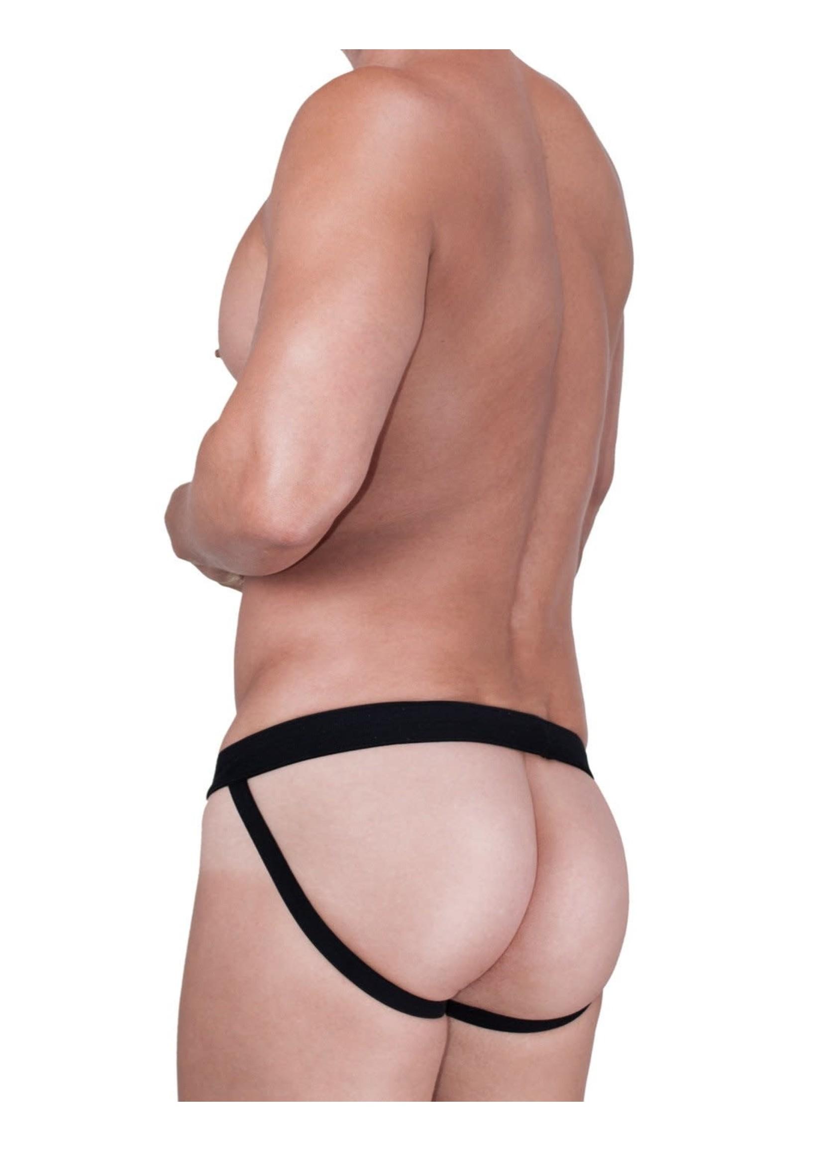 WildmanT WildmanT Raw Sport Stripe Jockstrap with Duraband Waistband