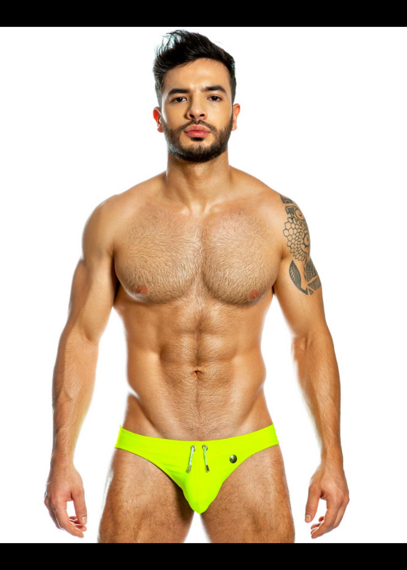Gigo Gigo Neon Green Swim Brief