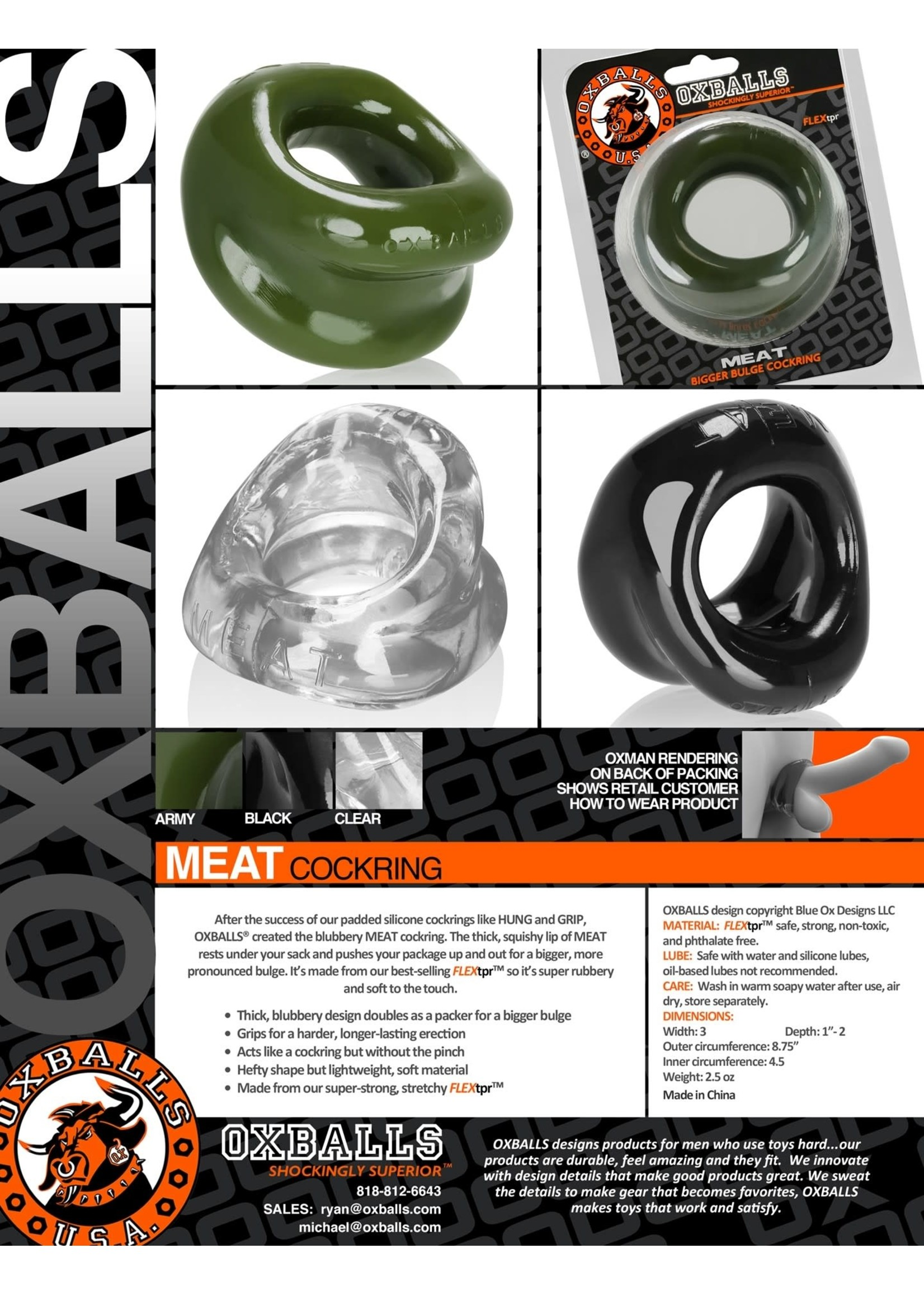 Oxballs Oxballs Meat Cock Ring