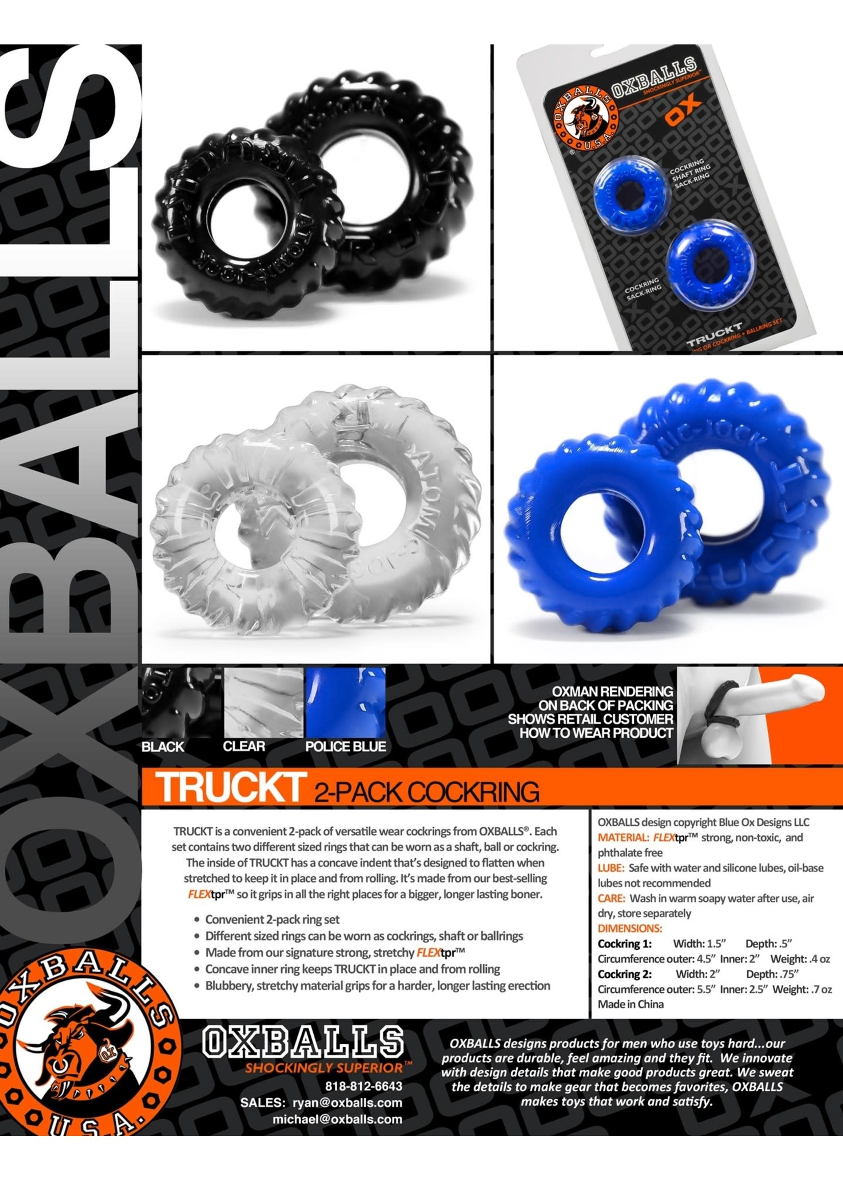 Oxballs Oxballs Truckt (2-Piece)