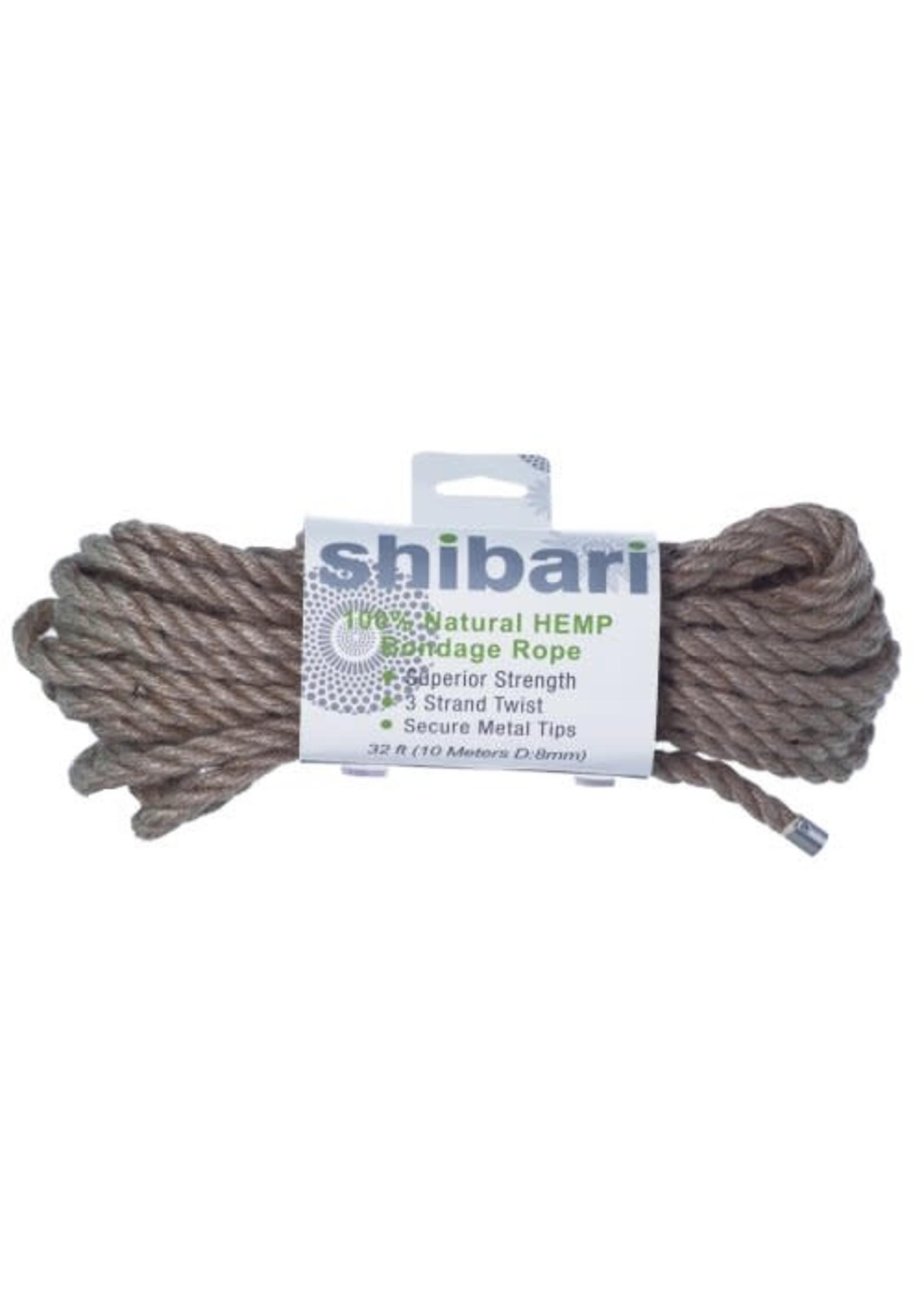 ShiBari Hemp Rope 32'