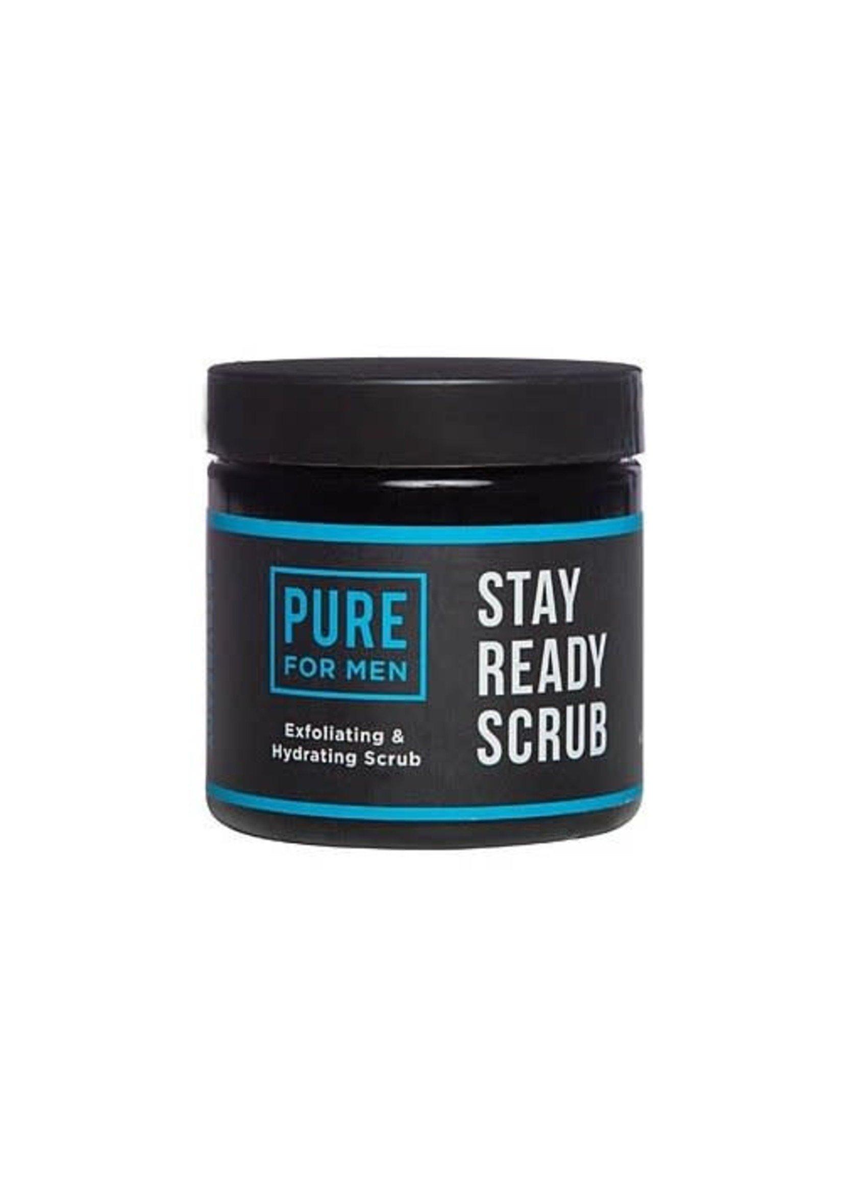 Pure for Men Pure for Men Stay Ready Scrub 9 oz