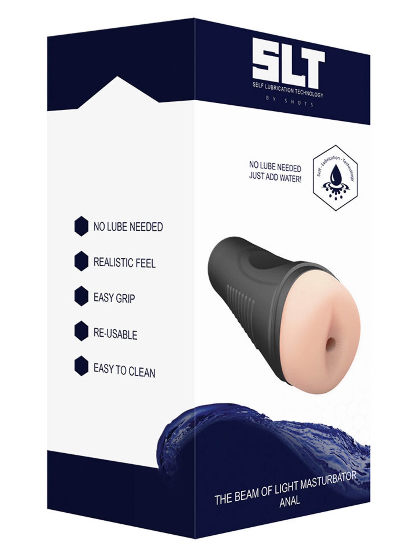 Shots SLT Easy Grip Anal Stroker XL