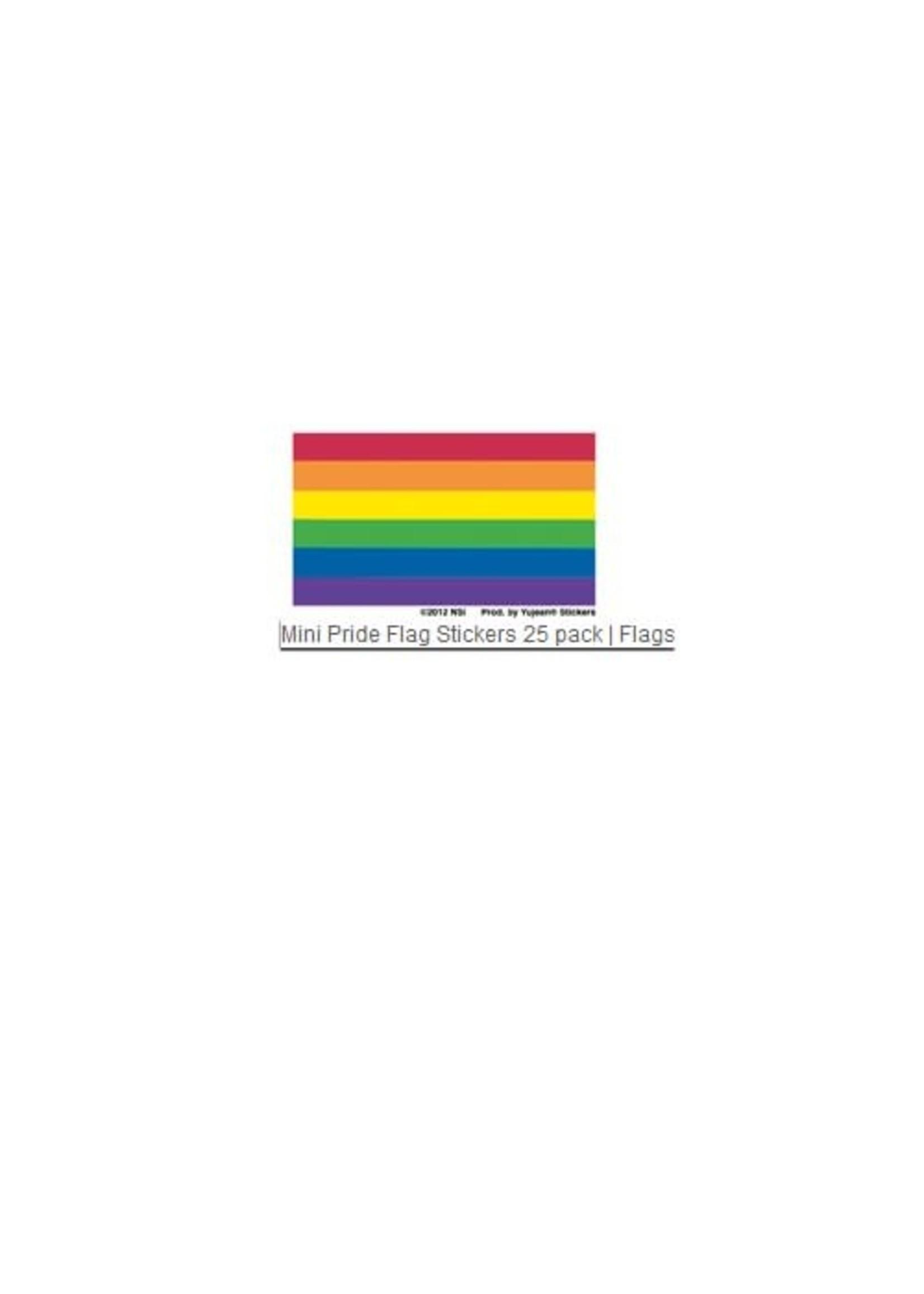 Mini Rainbow Flag Sticker