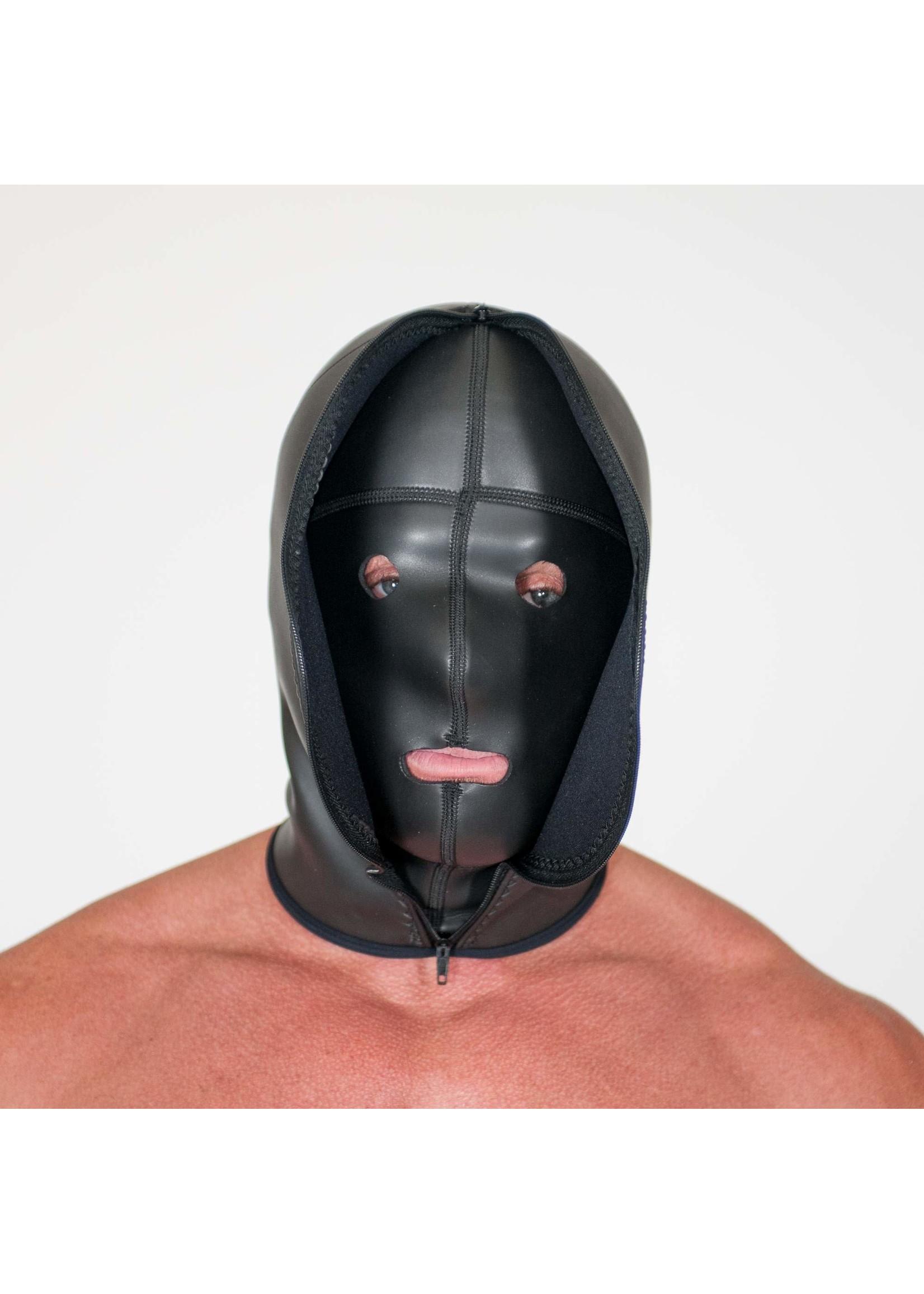 665 Leather 655 Neoprene Confinement Hood