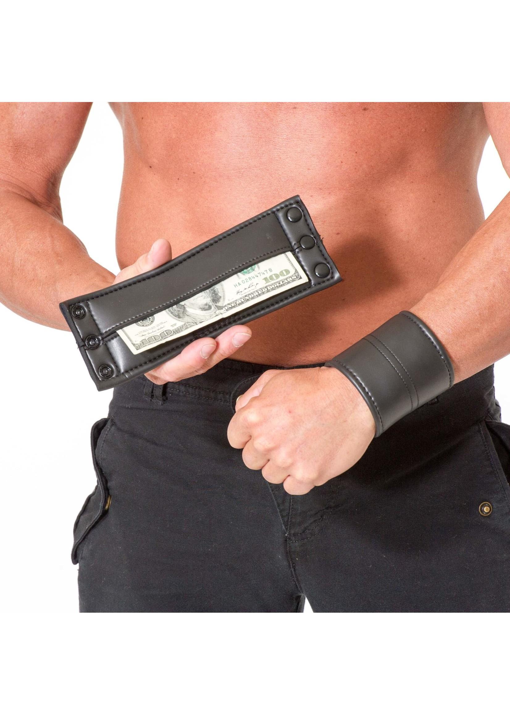 665 Leather 665 Neoprene Wrist Wallet