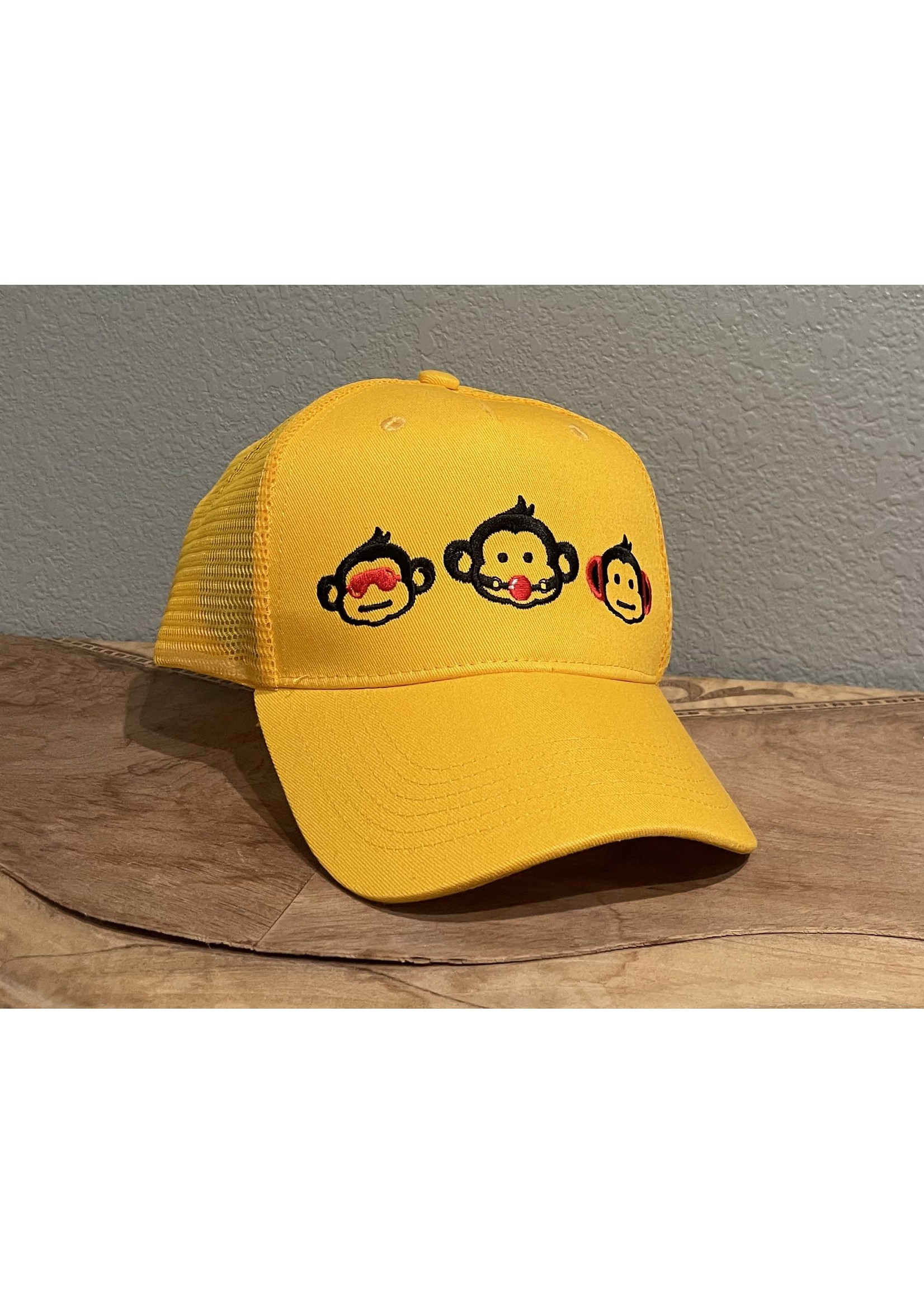 Slut Monkey Slut Monkey 3 Sluts Trucker Hat