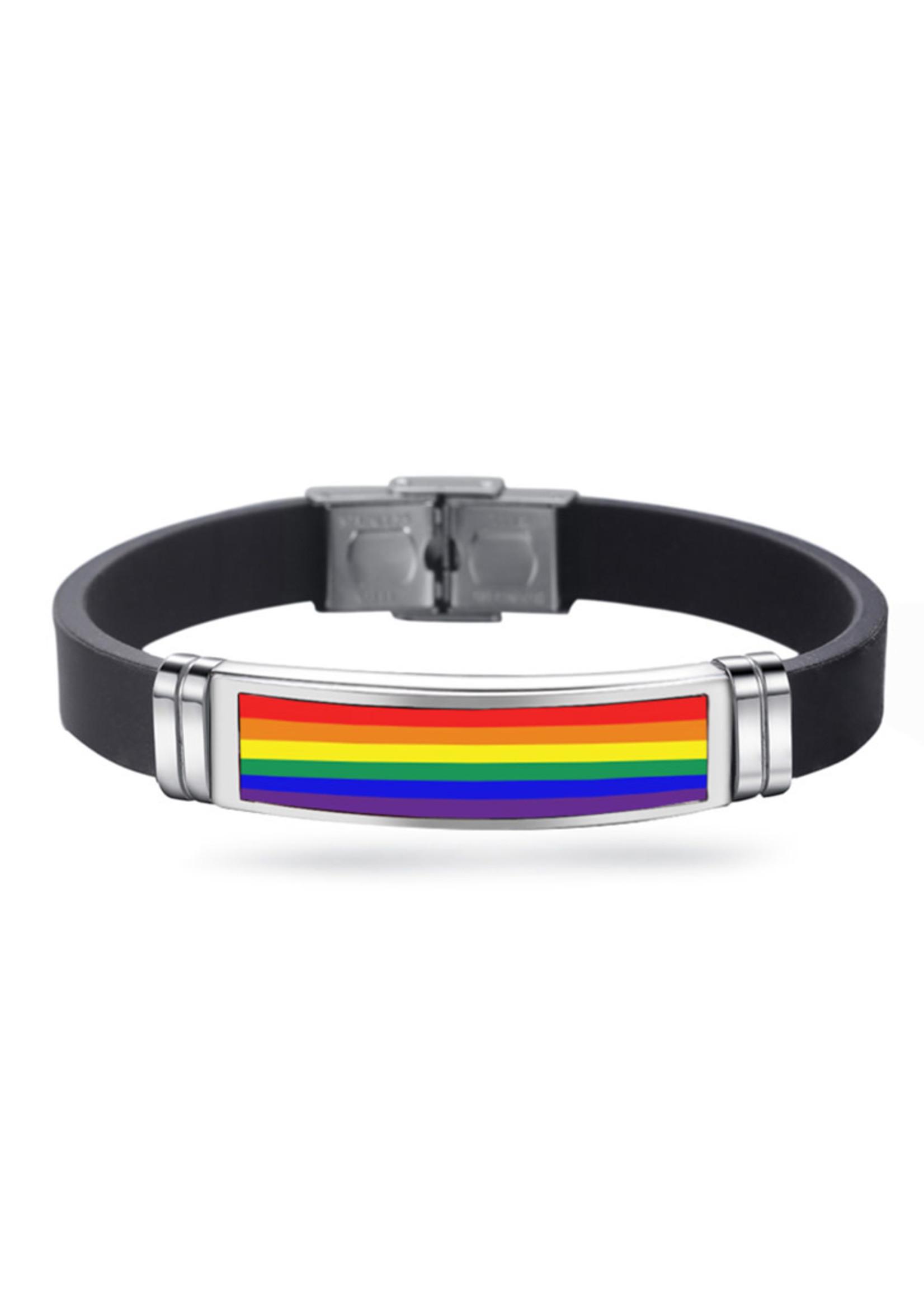 Rainbow Enamel Bracelet