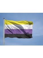 Flag: Non Binary 3' x 5'