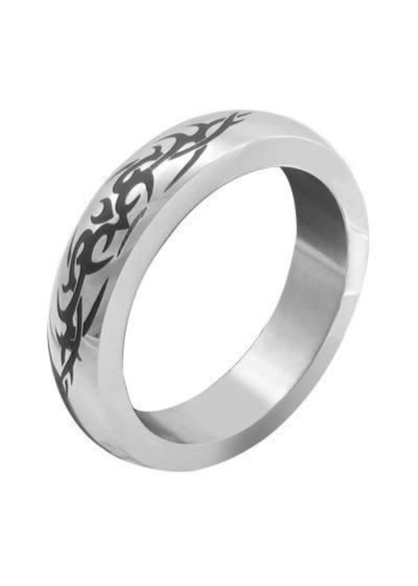 M2M Stainless Tribal Design Band
