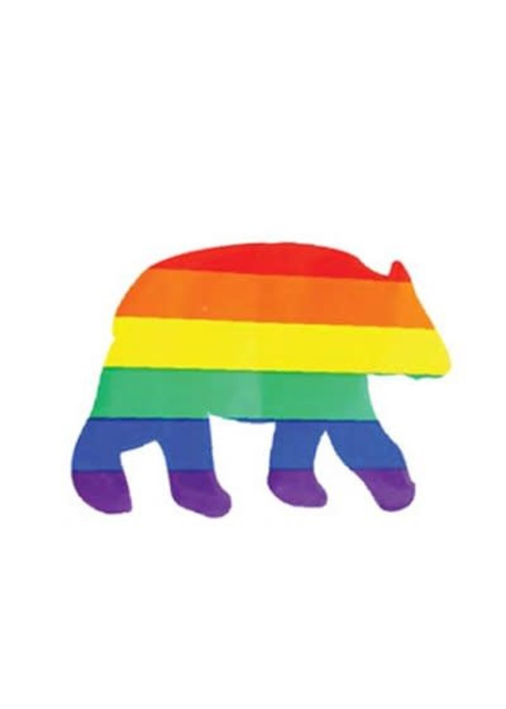 Rainbow Bear Sticker