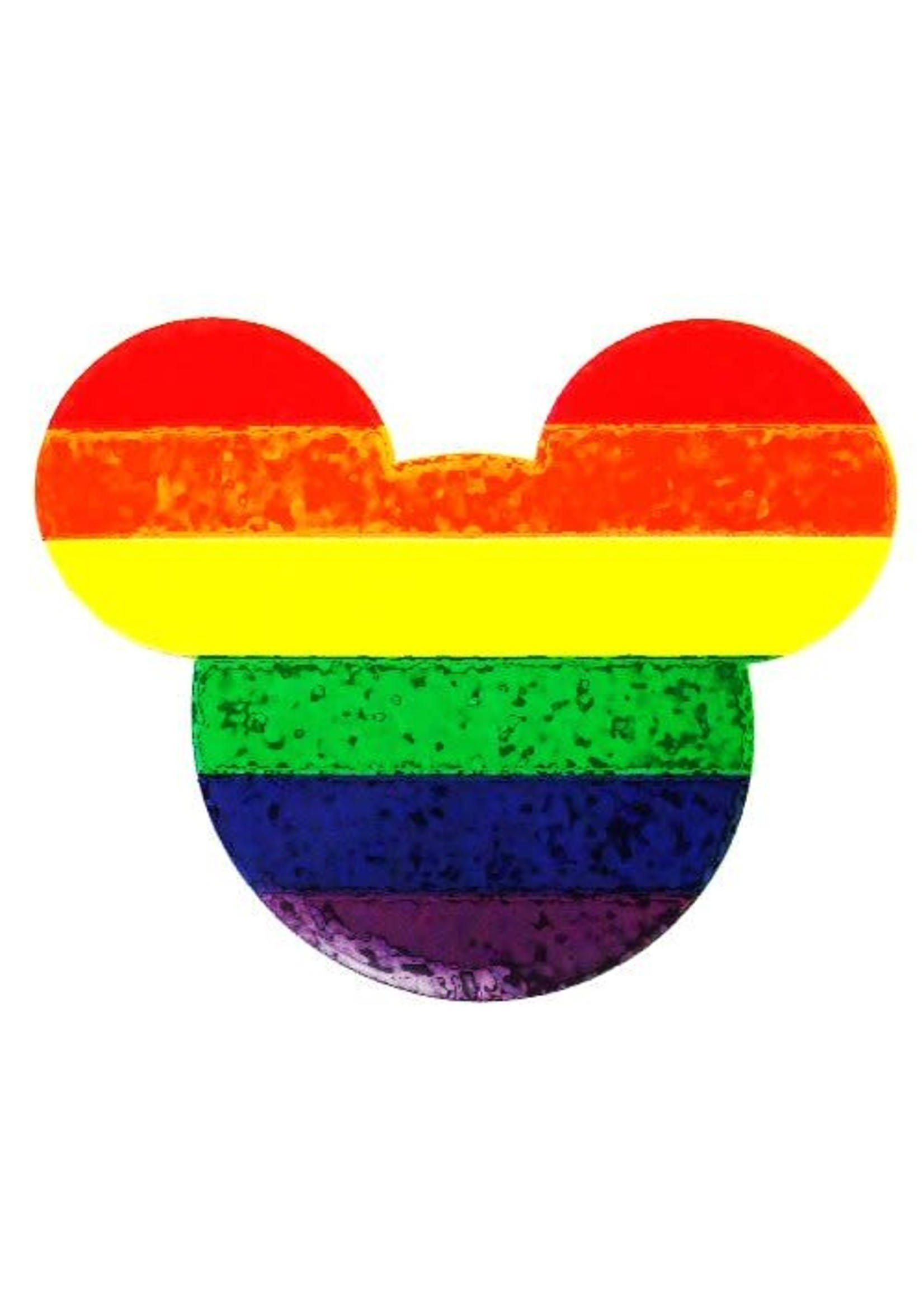 Rainbow Mouse Reflective Sticker