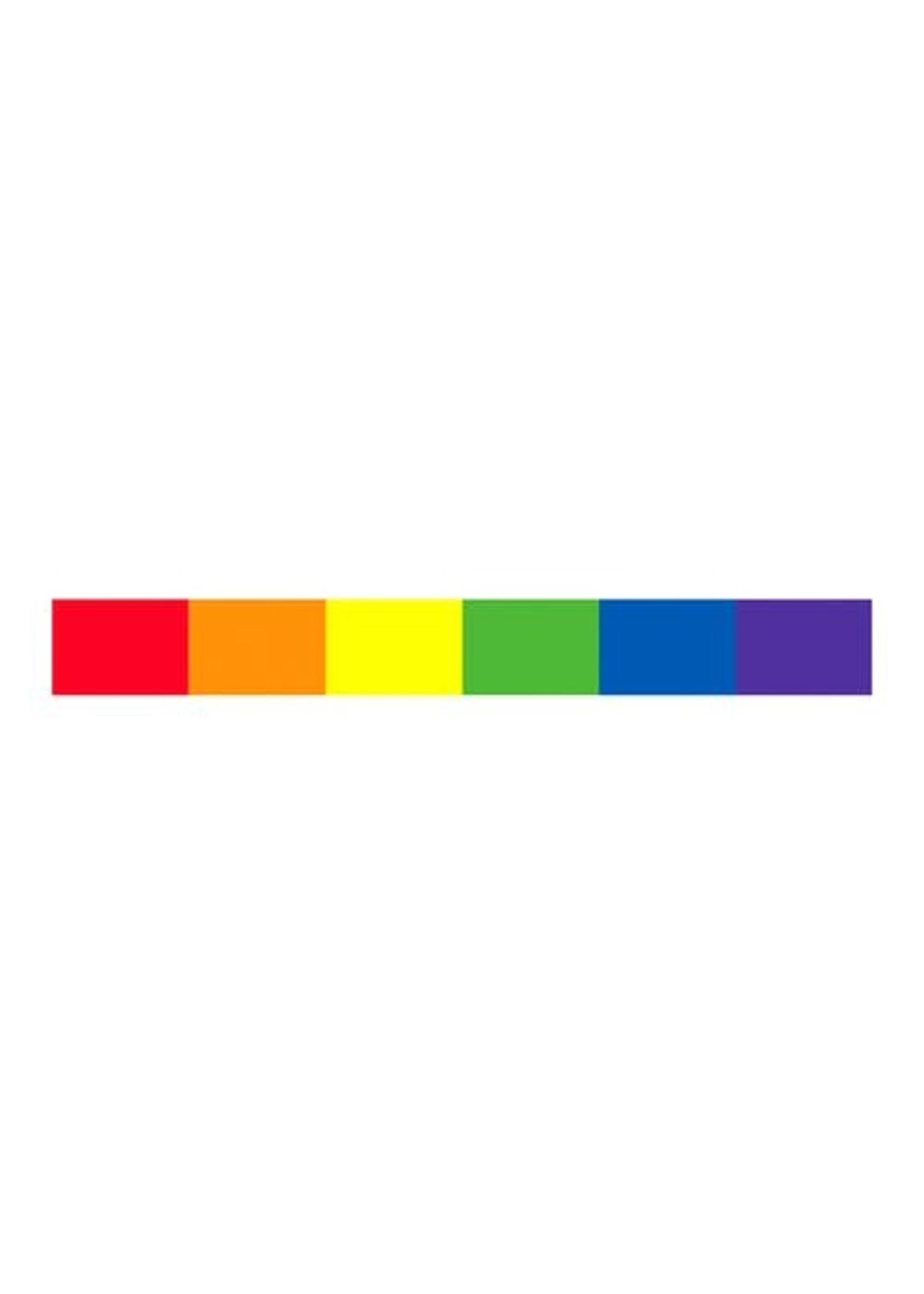 Rainbow Strip Sticker
